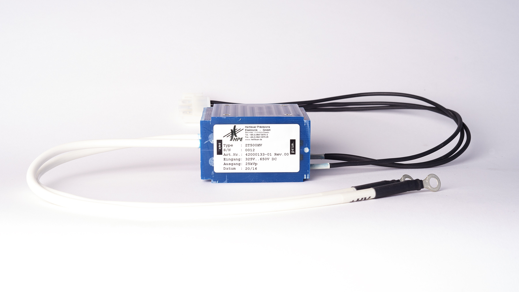 HPE ZT500HV - Zündtransformator für Schaltfunkenstrecken