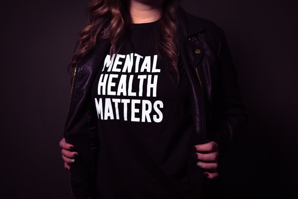 Starting therapy can be hard. But like this shirt says, mental health matters. Here's your ultimate guide to getting started with therapy.