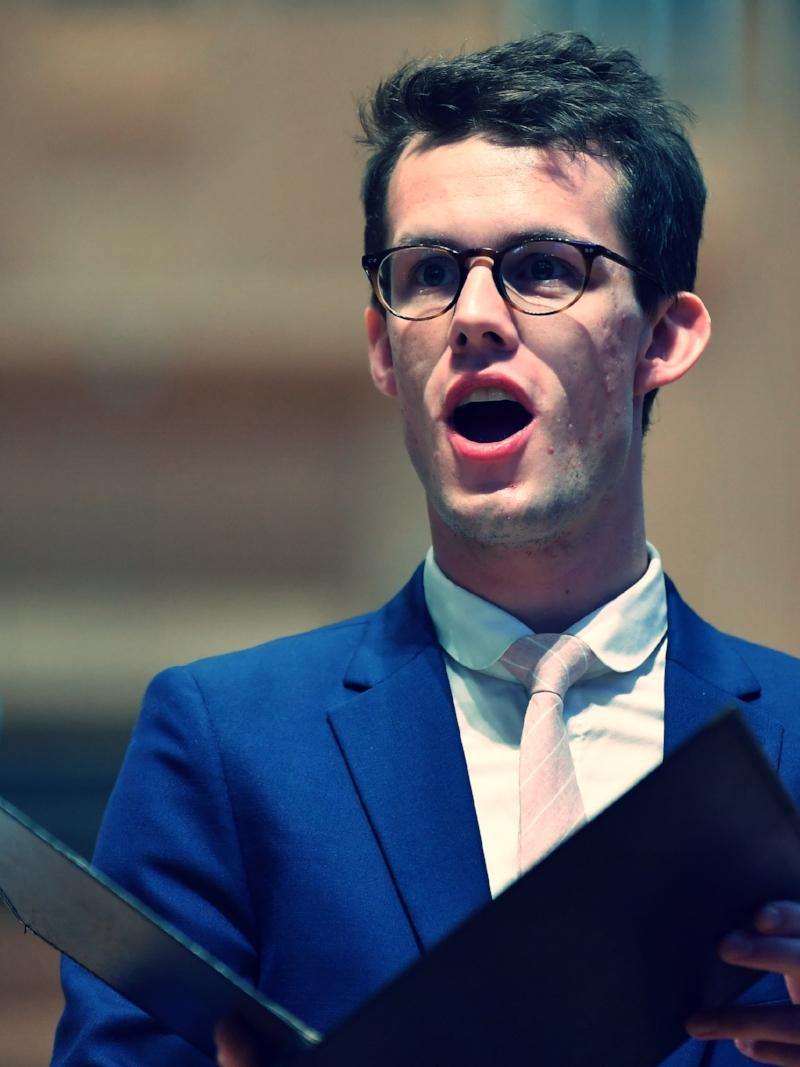Alexander Simpson Countertenor Bach Cantata