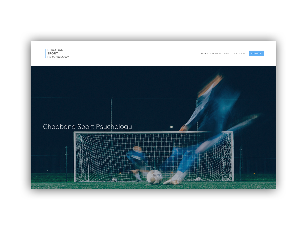 - Based in London, Chaabane Sport Psychology offers the highest-quality of psychological support to help athletes and coaches of all levels and ages achieve their potential.