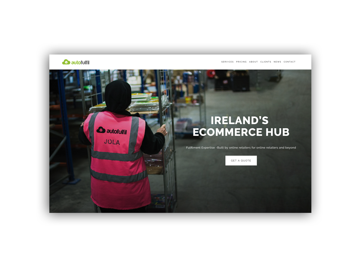 - Autofulfil provide Ecommerce Order Fulfilment services at their Ecommerce Hub in Ireland.Their experienced team manage inventory, Ecommerce Fulfilment, Pick and Pack & Shipping.