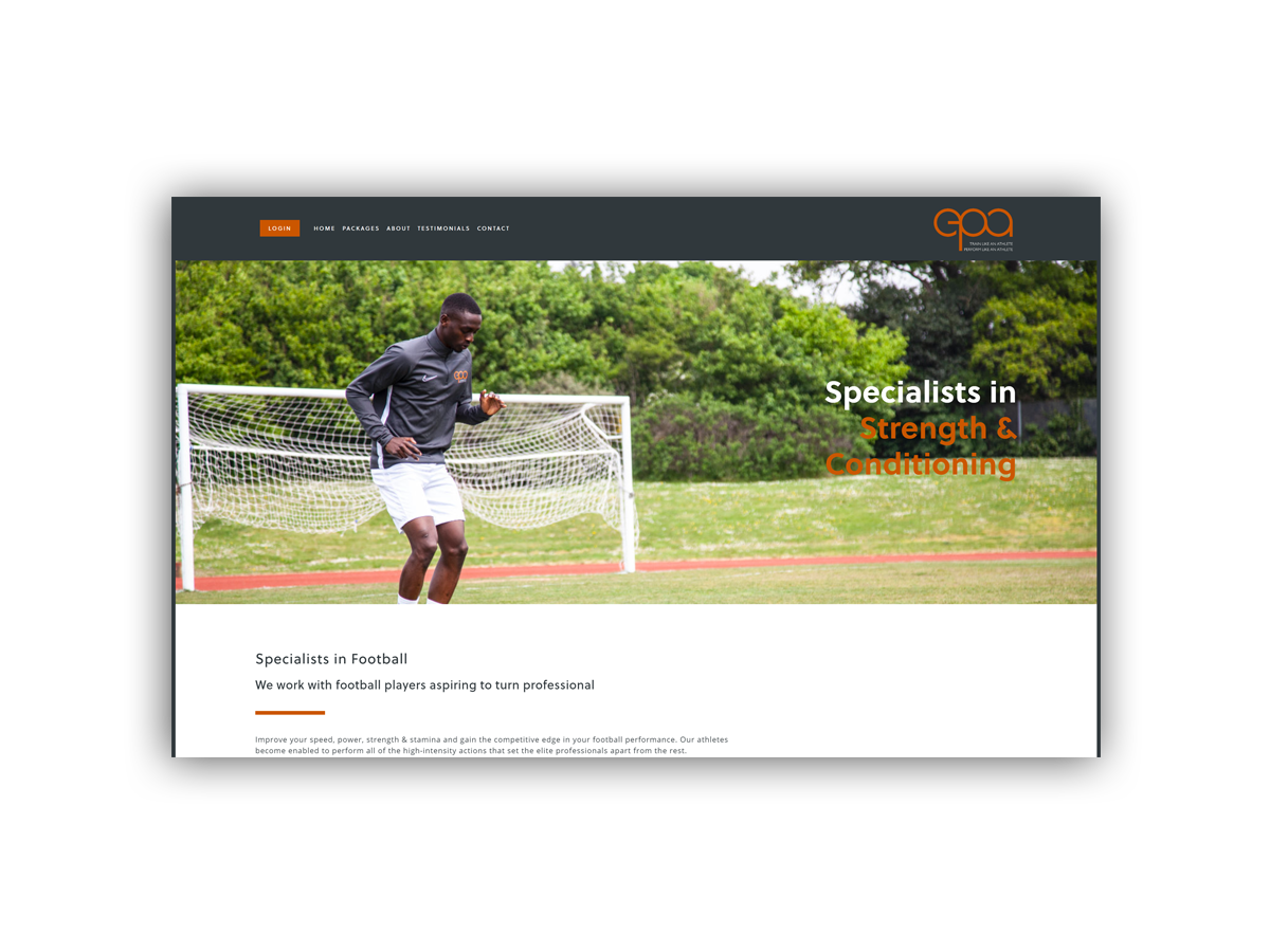 - Elite Performance Academy works with football players aspiring to turn professionalComing soon