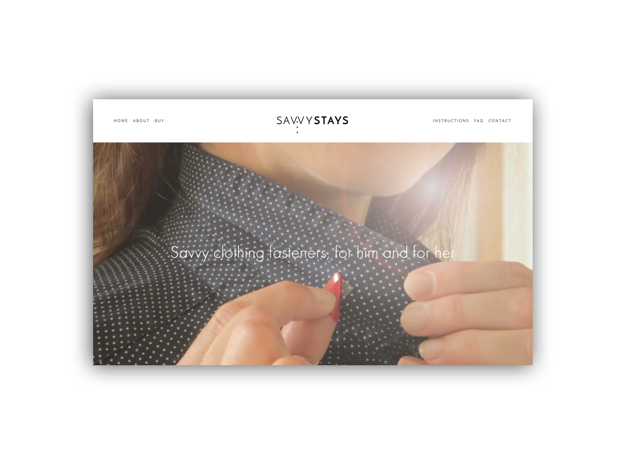 - Savvy clothing fasteners, for him and for her.