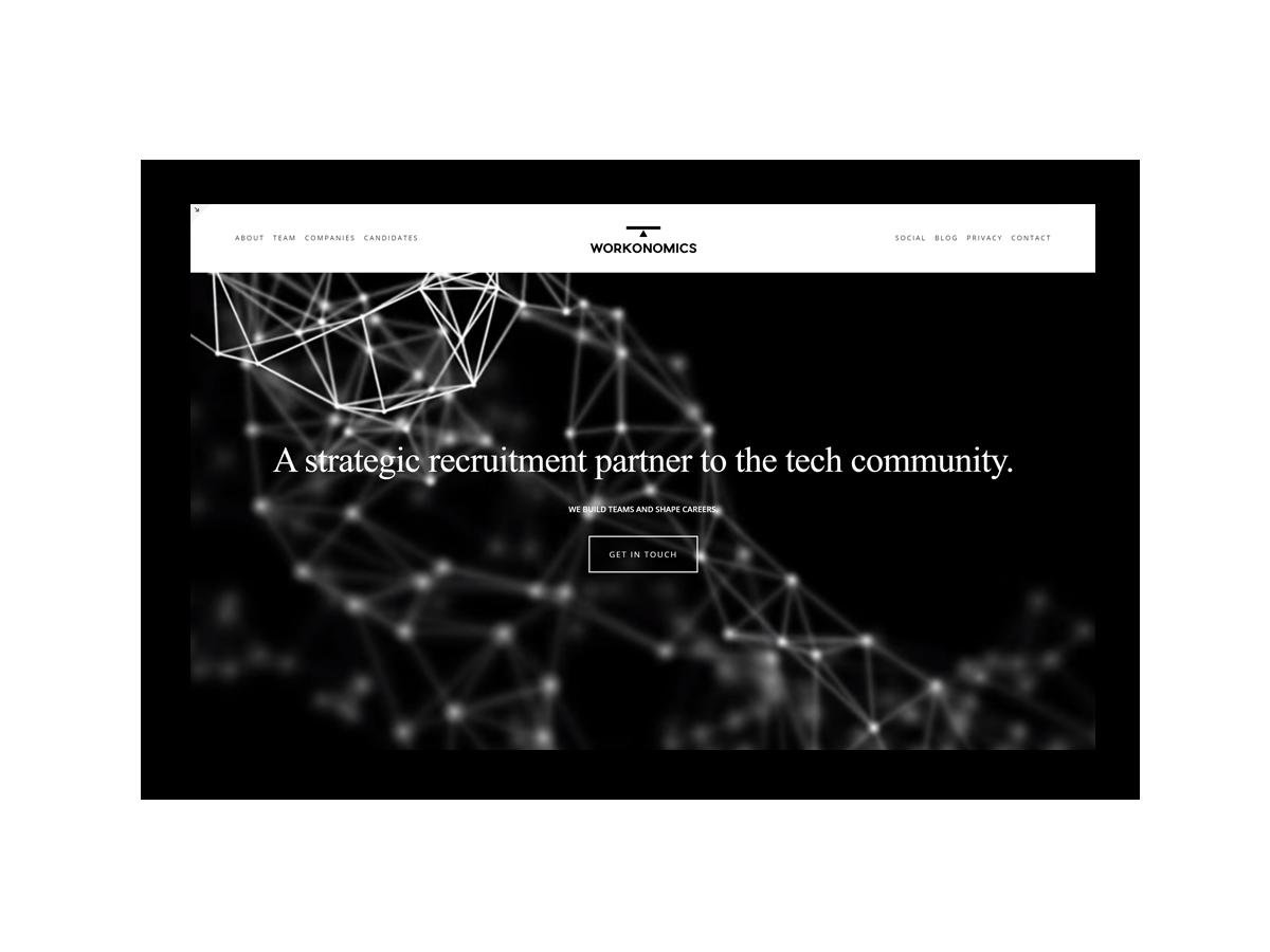 - Workonomics is a strategic recruitment partner to the tech community.Coming soon