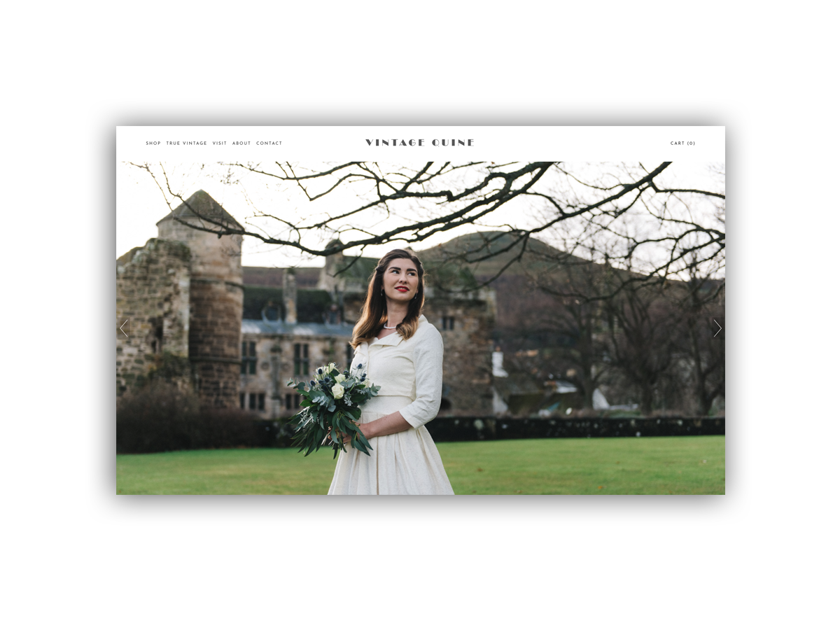 - Vintage Quine is a shop selling Vintage and vintage inspired clothing and accessories. Shop online or visit their shop in the historic picturesque Fife village of Falkland, Scotland.