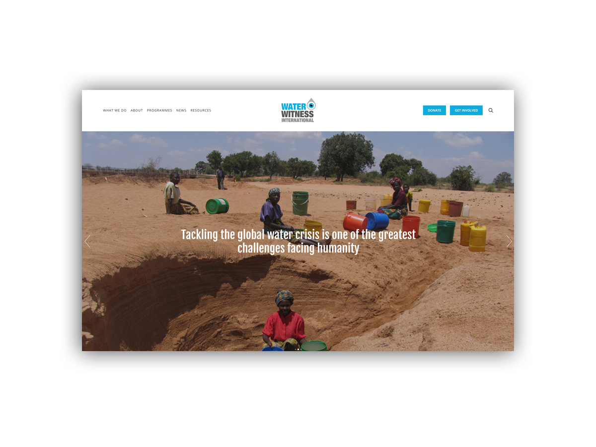 - Water Witness International (WWI) works for a world protected against pollution, droughts, flood and resource conflict.They investigate, innovate and influence for water justice, working globally to address the root causes of poor water management.