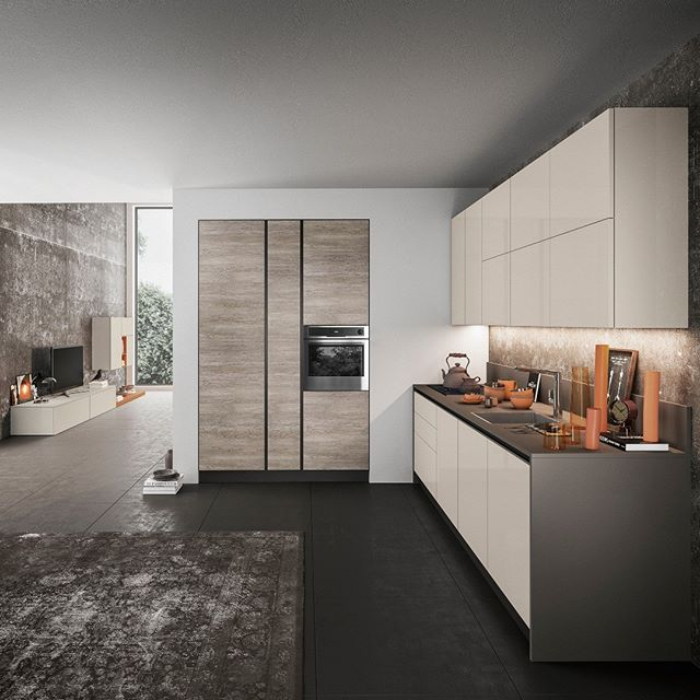 this beautiful Kitchen is from @arredo3 . . . #mondaymotivation #motivatingmonday #kitchendesign #interior #interiordesign #homedesign #art #madeinitaly #cucine #design #modernhomes #modernhomedecor