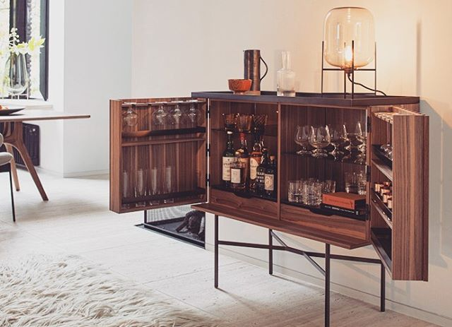 The beautiful drinks cabinet from the Harri collection by @moremoebel