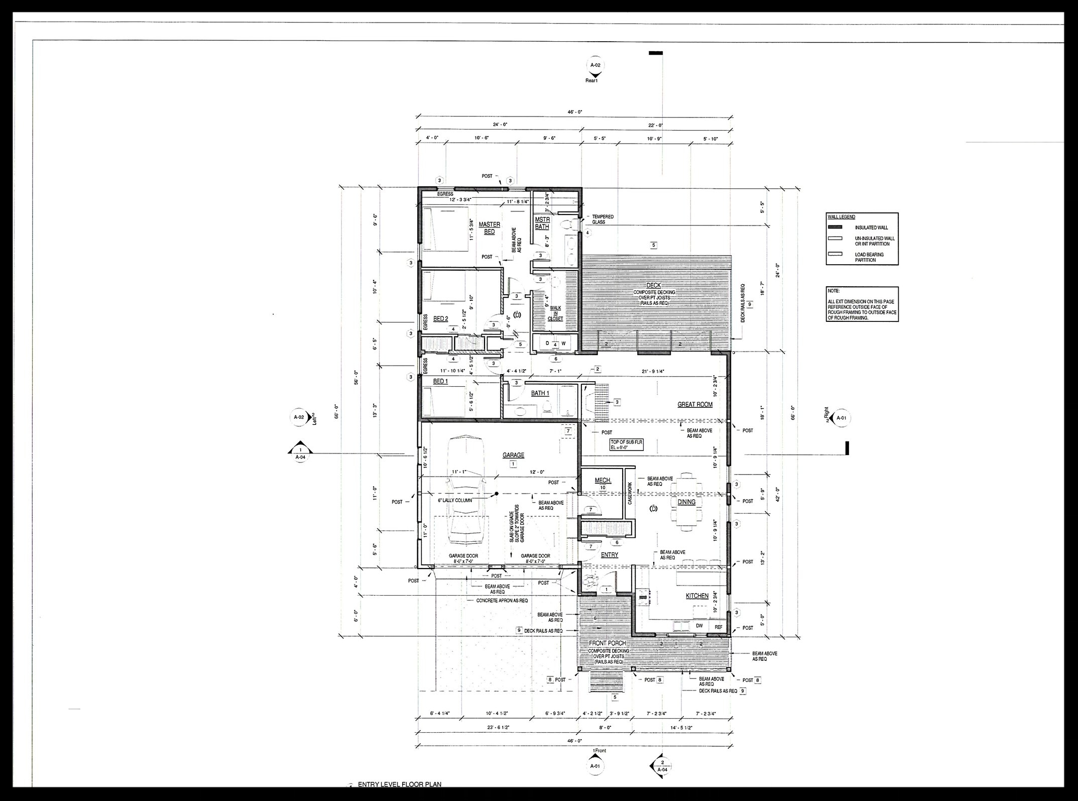 The Marion, Floor Plan view
