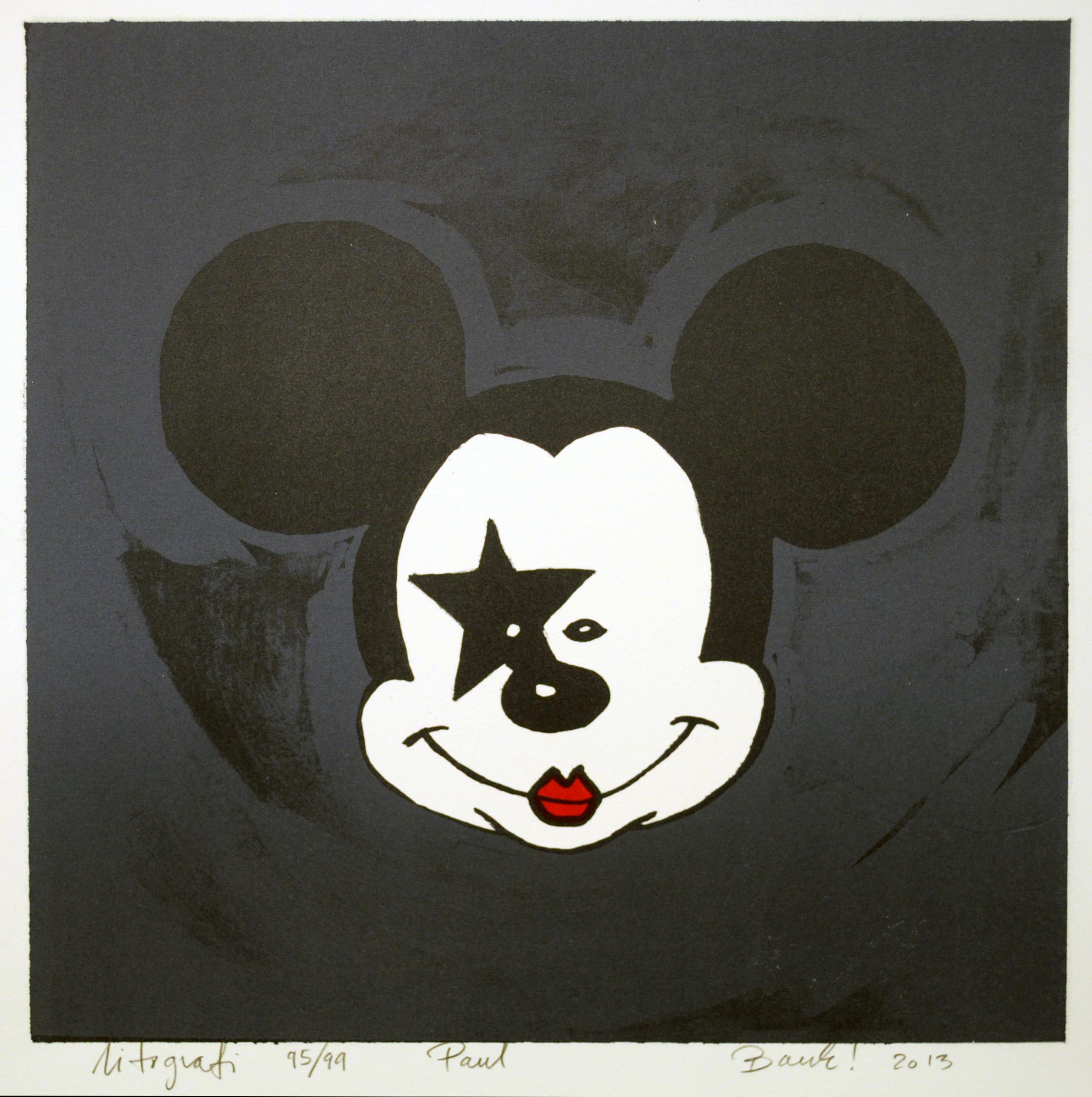 Kiss a mouse (Paul)
