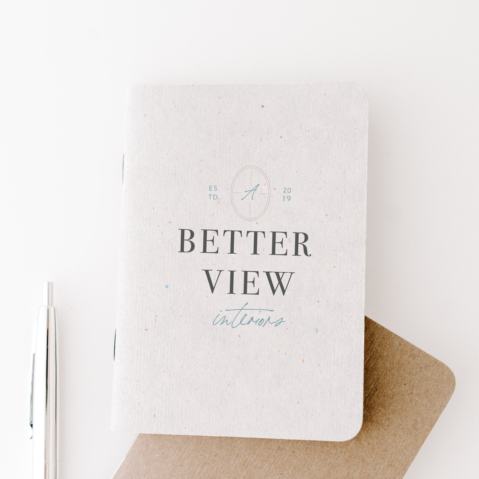 A Better View Interiors | Branding by Jula Paper Co.