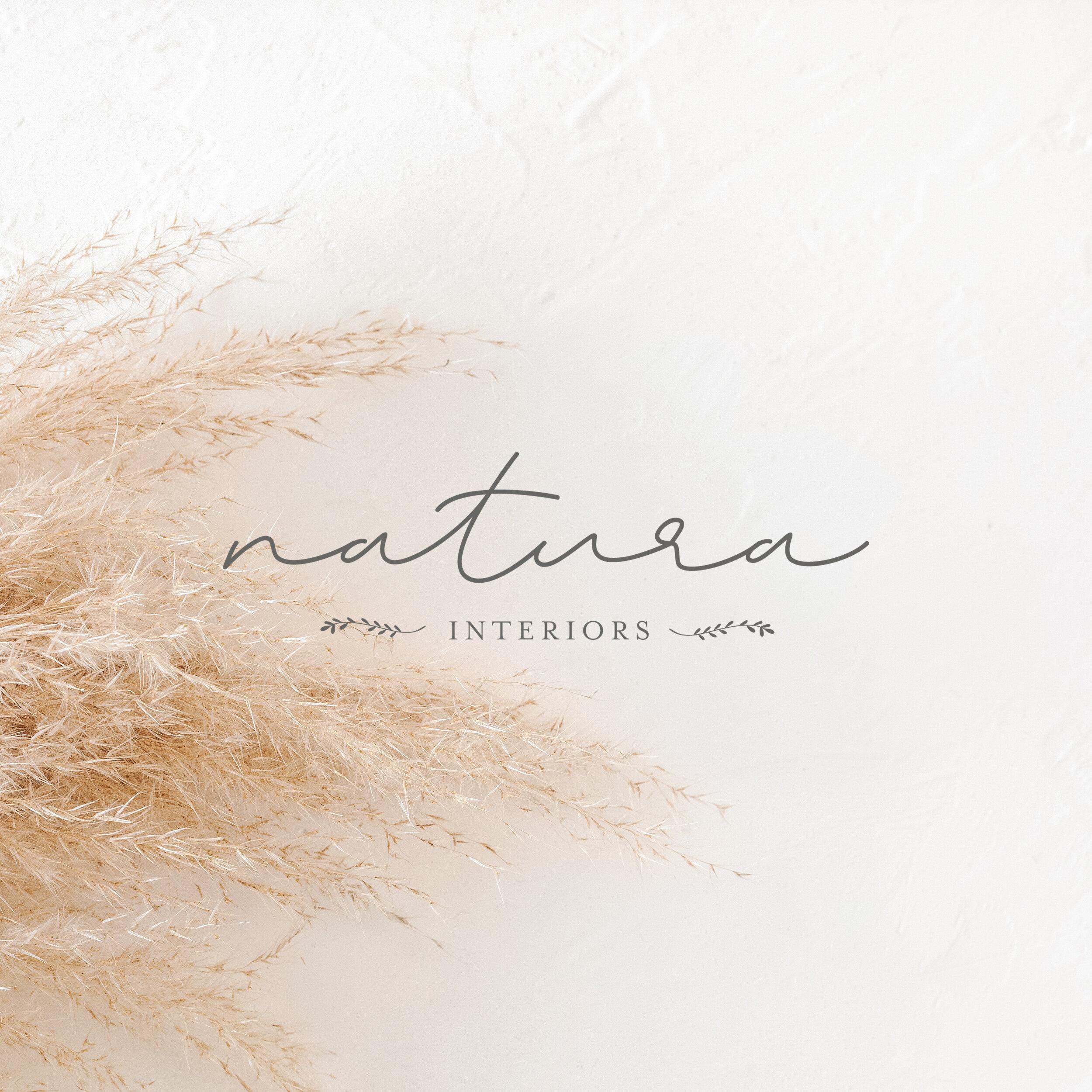 Natura Interiors   Branding by Jula Paper Co