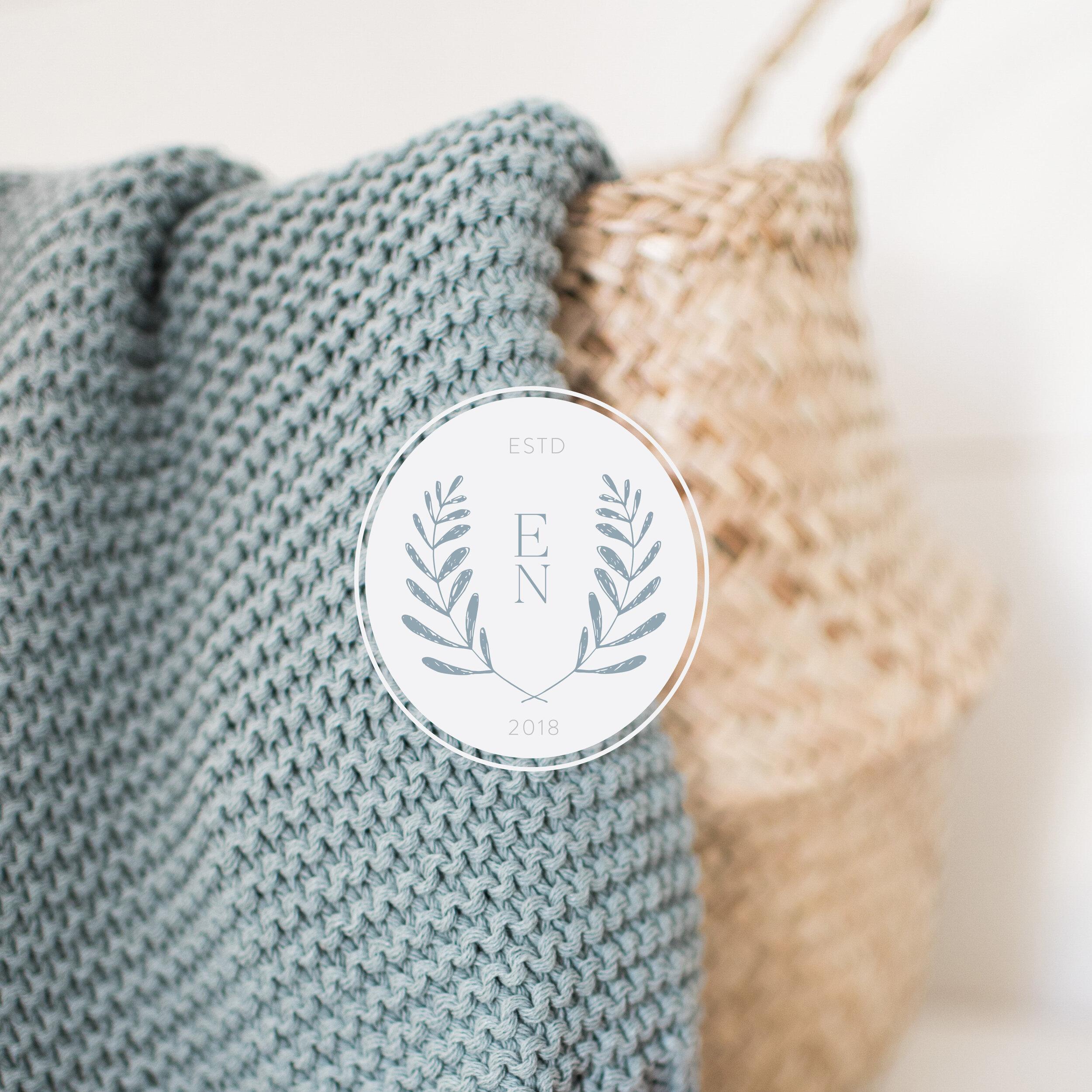 The Enlightened Nest   Branding by Jula Paper Co
