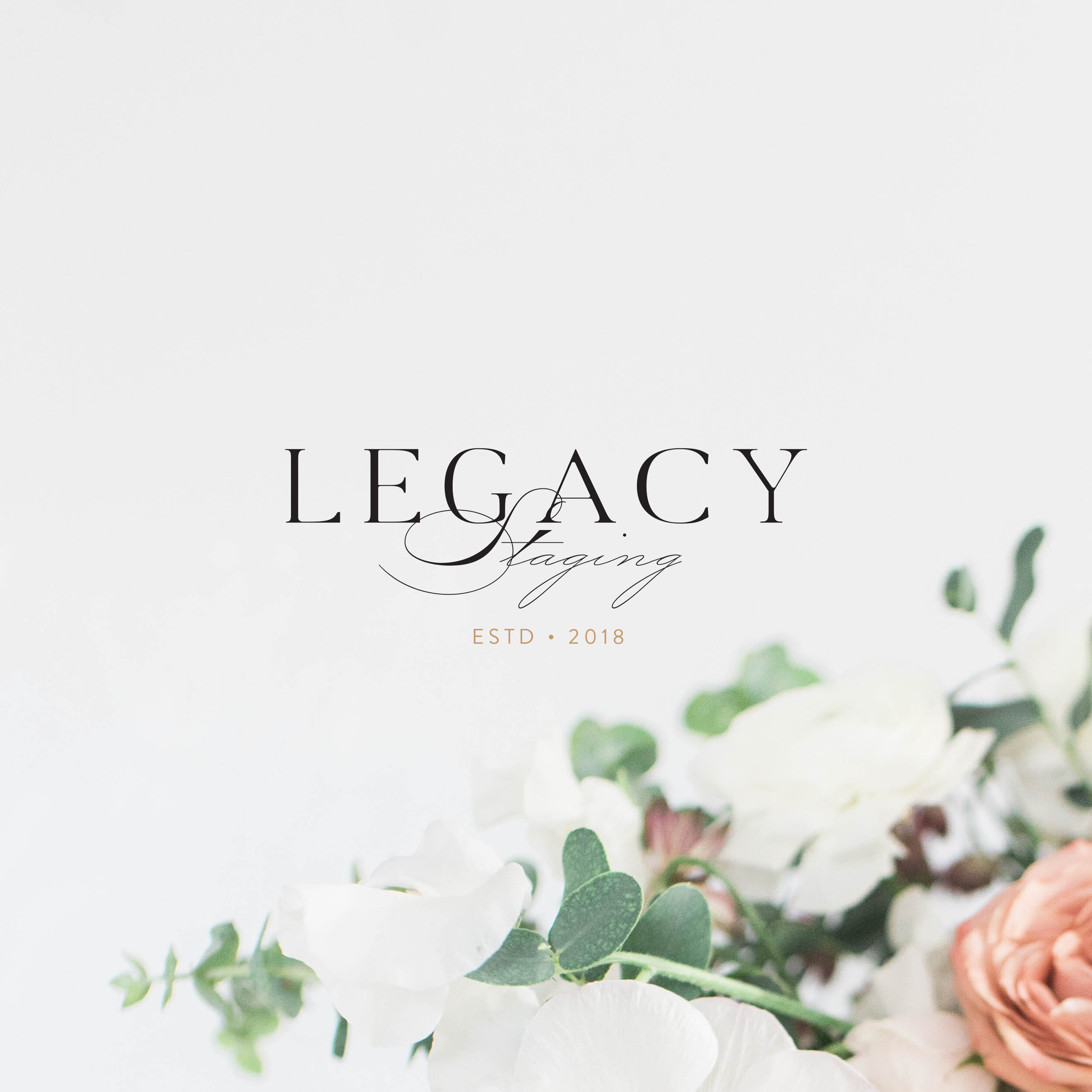 Legacy Staging | Branding by Jula Paper Co.