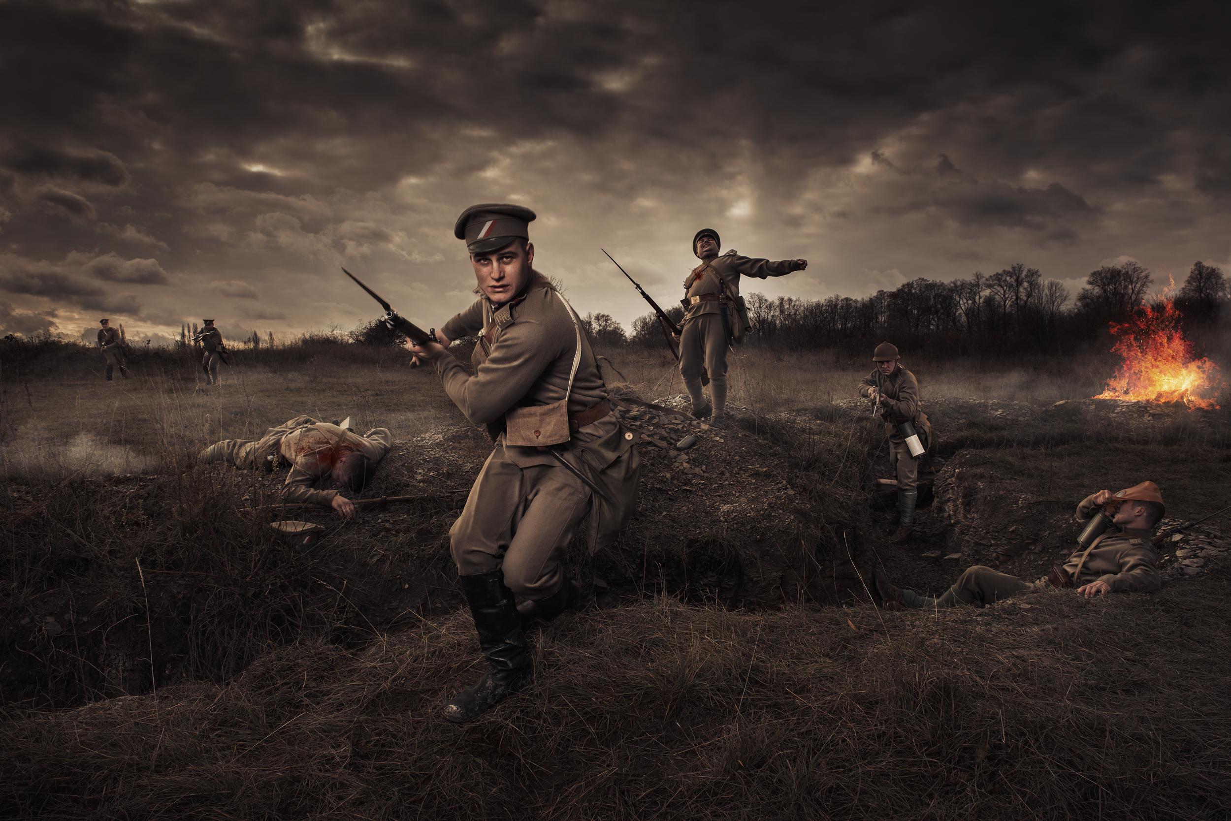 """Milan Kabelka Photographer - článek o kalendáři československých legionářů """"Za Republiku!"""""""