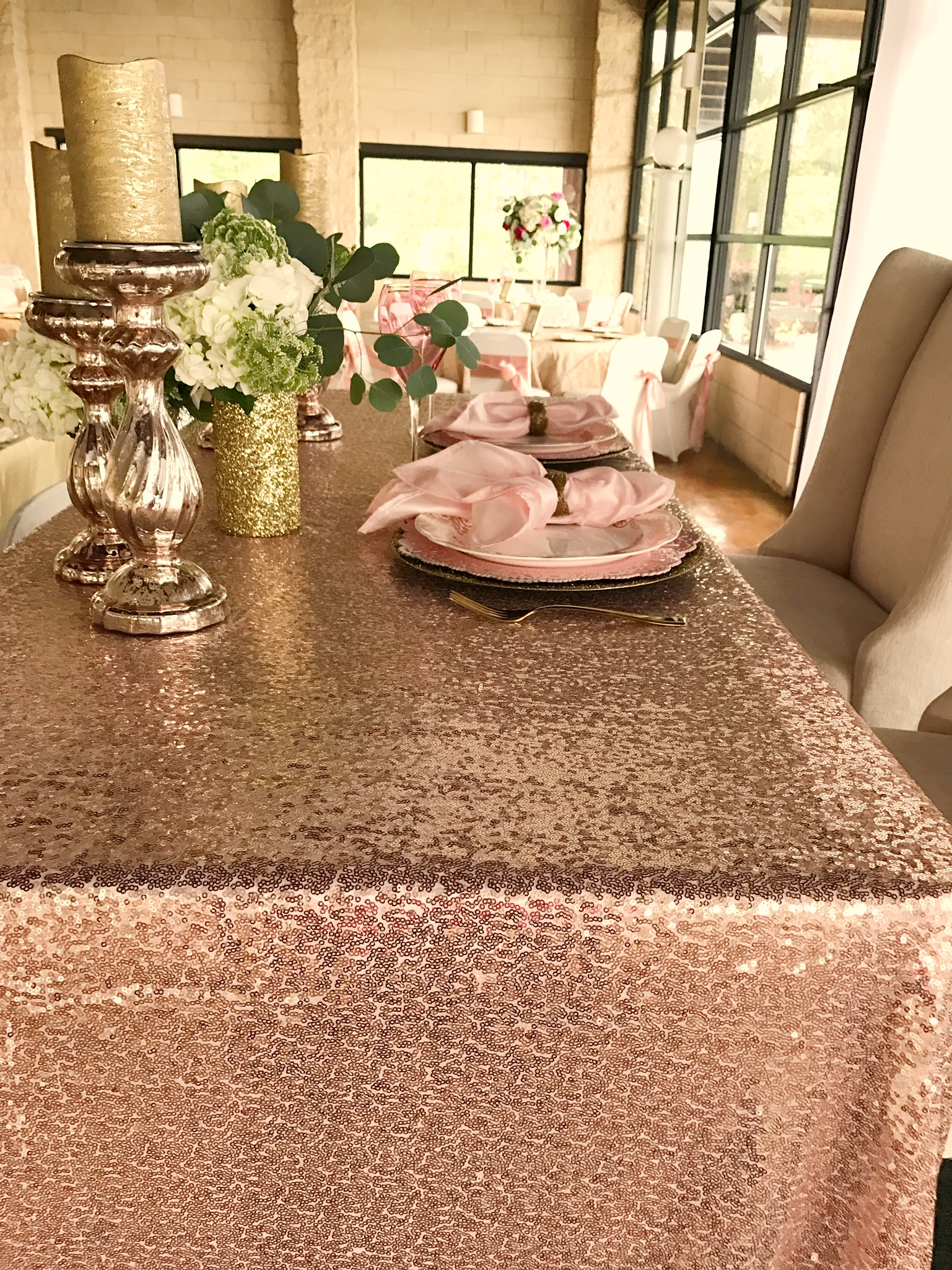 rose-gold-glitter-wedding