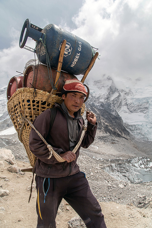 Sherpa from the Khumbu Valley in Nepal