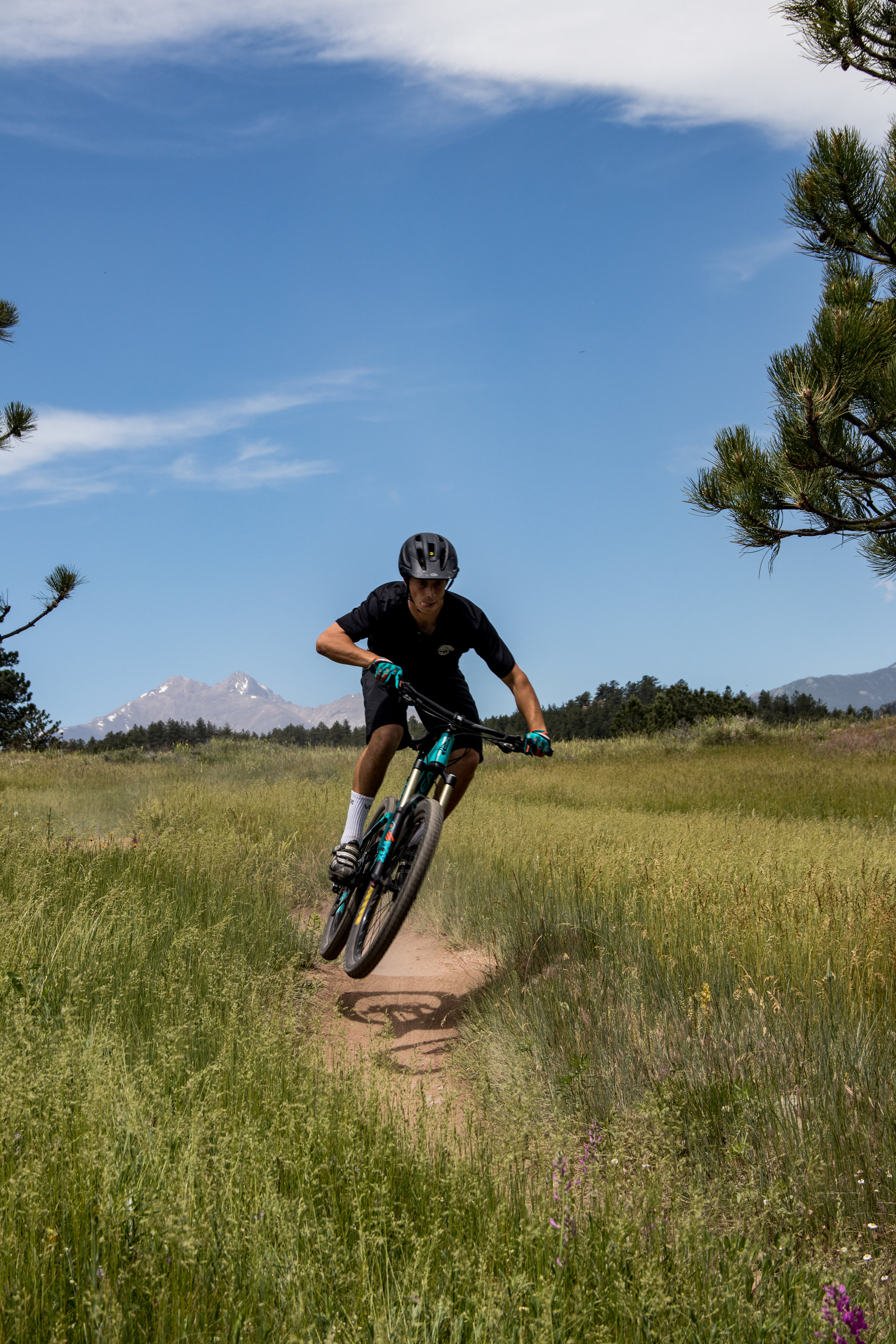 Needless to say, the ride was epic. - Antelope Trail, Boulder, ColoradoPhoto: Landon Kennedy