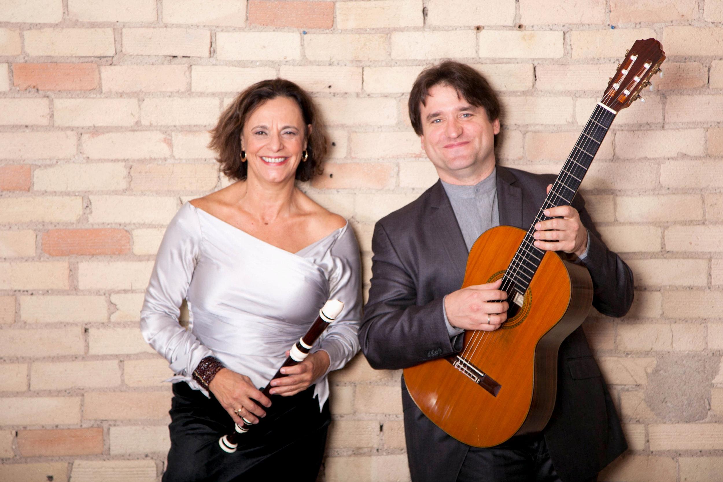 Clea Galhano and Rene Izquierdo