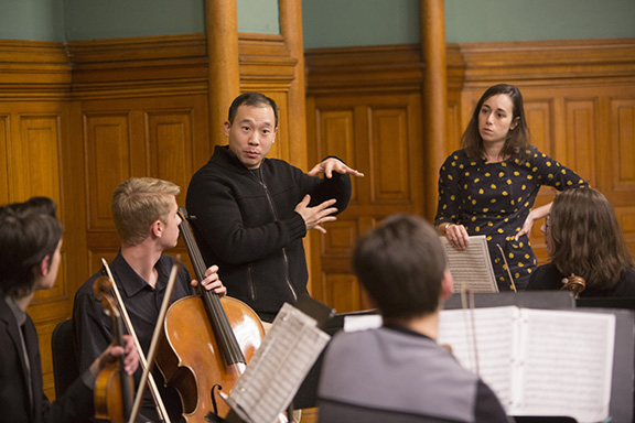 Masterclass with The Parker Quartet
