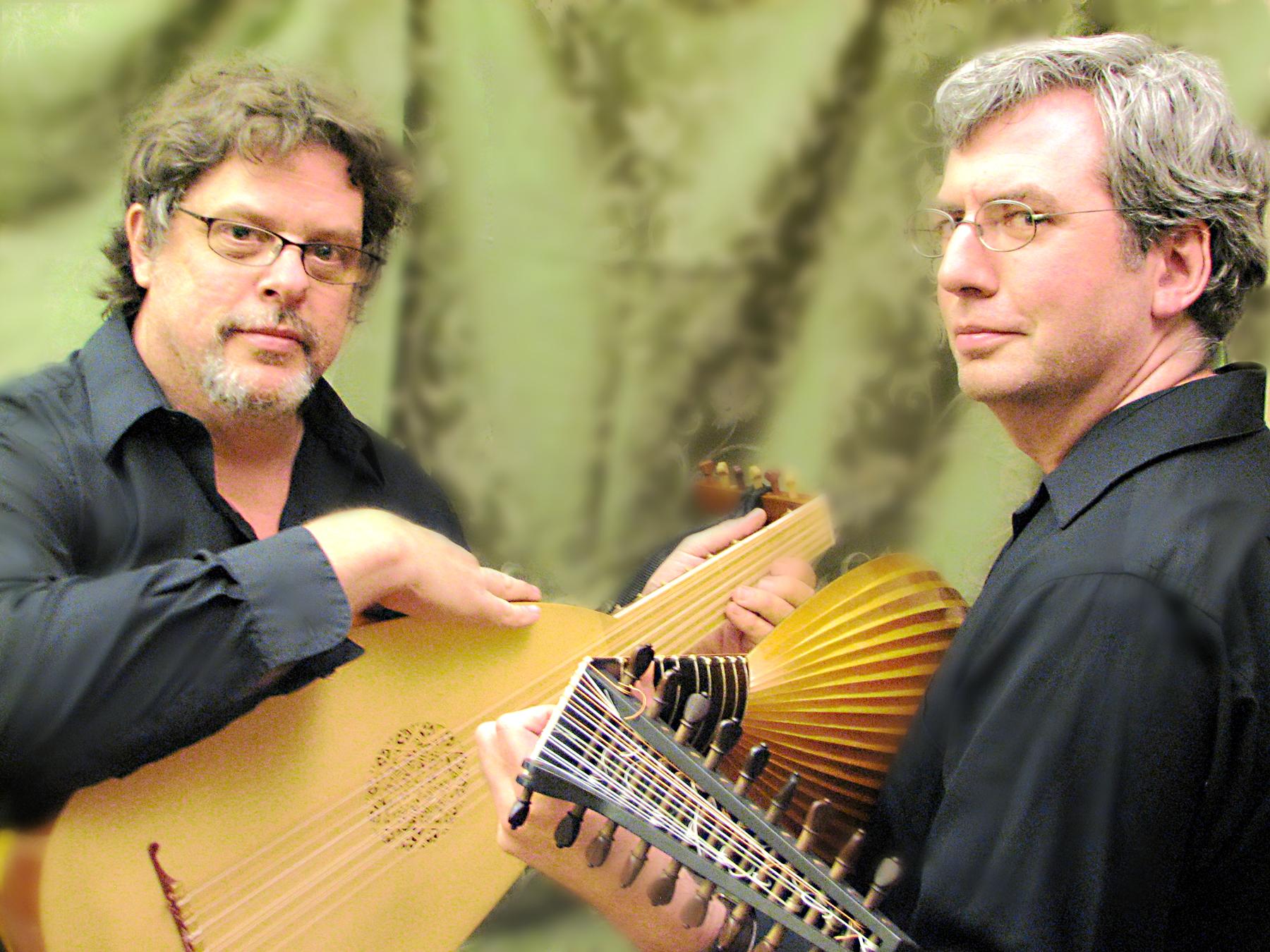 Terzetti Lute Duo: Phillip Rukavina and Thomas Walker Jr.