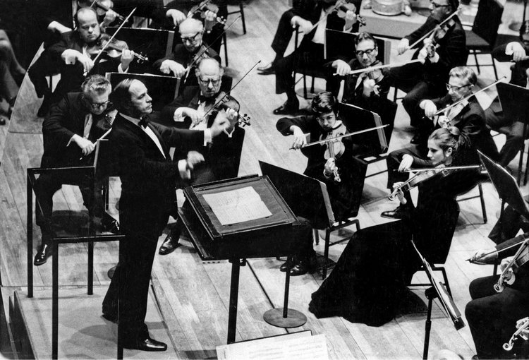 © Bert Bial/New York Philharmonic Archives/NY Times