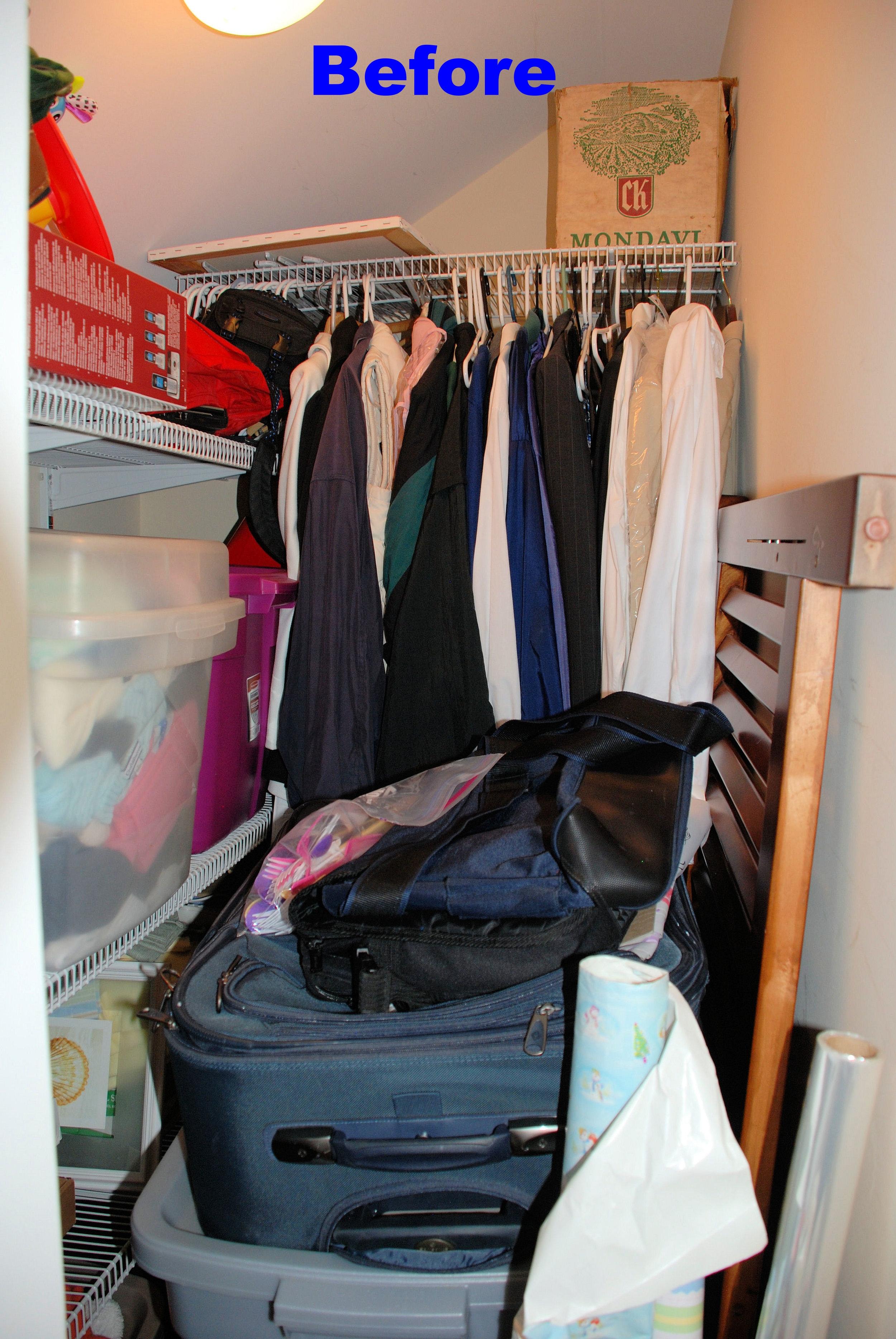 Guest Bedroom closet