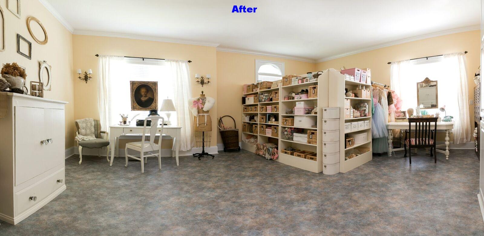 Large vintage craft room