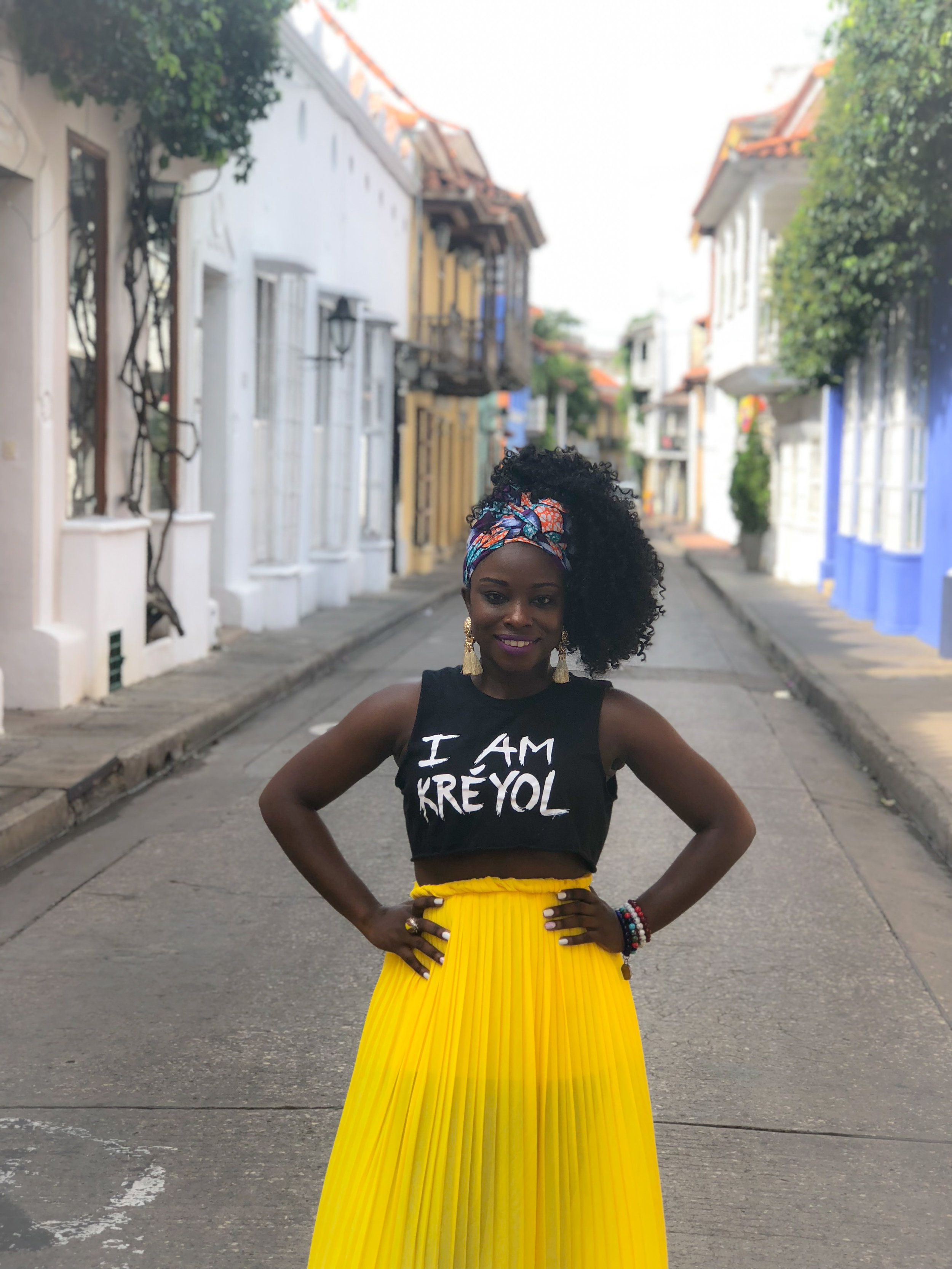 Solo Trip - Enjoying Cartagena, Colombia solo after a 3-day conference in Orlando, Florida.