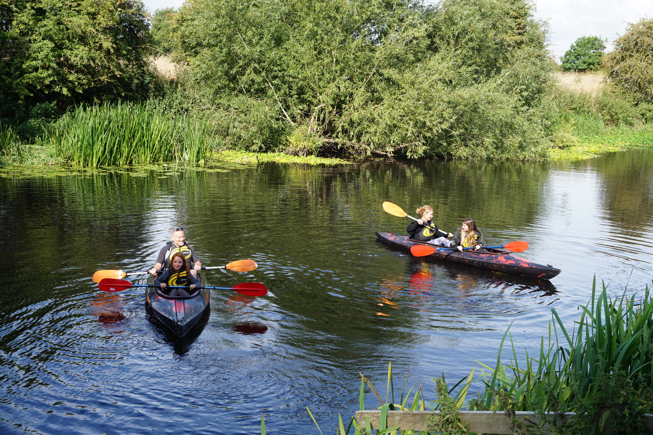 """Would definitely recommend, as a family we had never been kayaking before & had the best time"" - - Lisa Wakefield, Leicester"