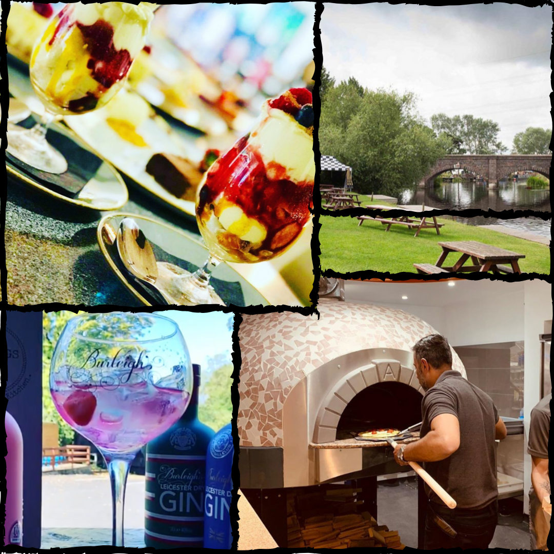 It's Gin o'clock! - (& maybe we can squeeze in some delicious wood fired pizzas)
