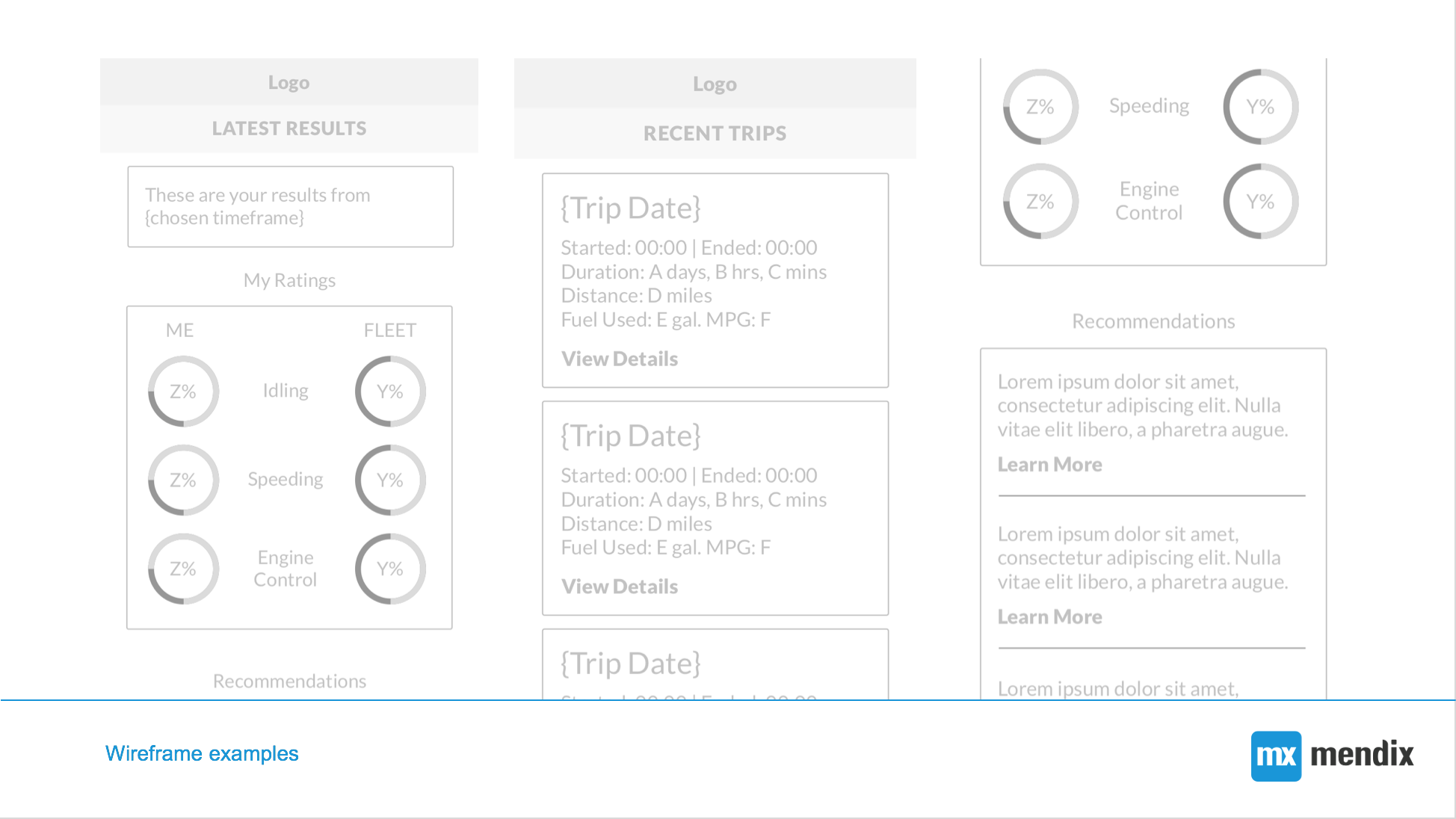 vnomics wireframes