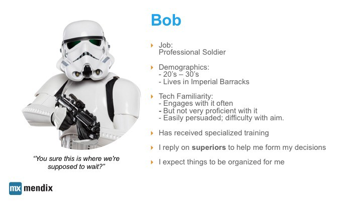 Our Stormtrooper Persona