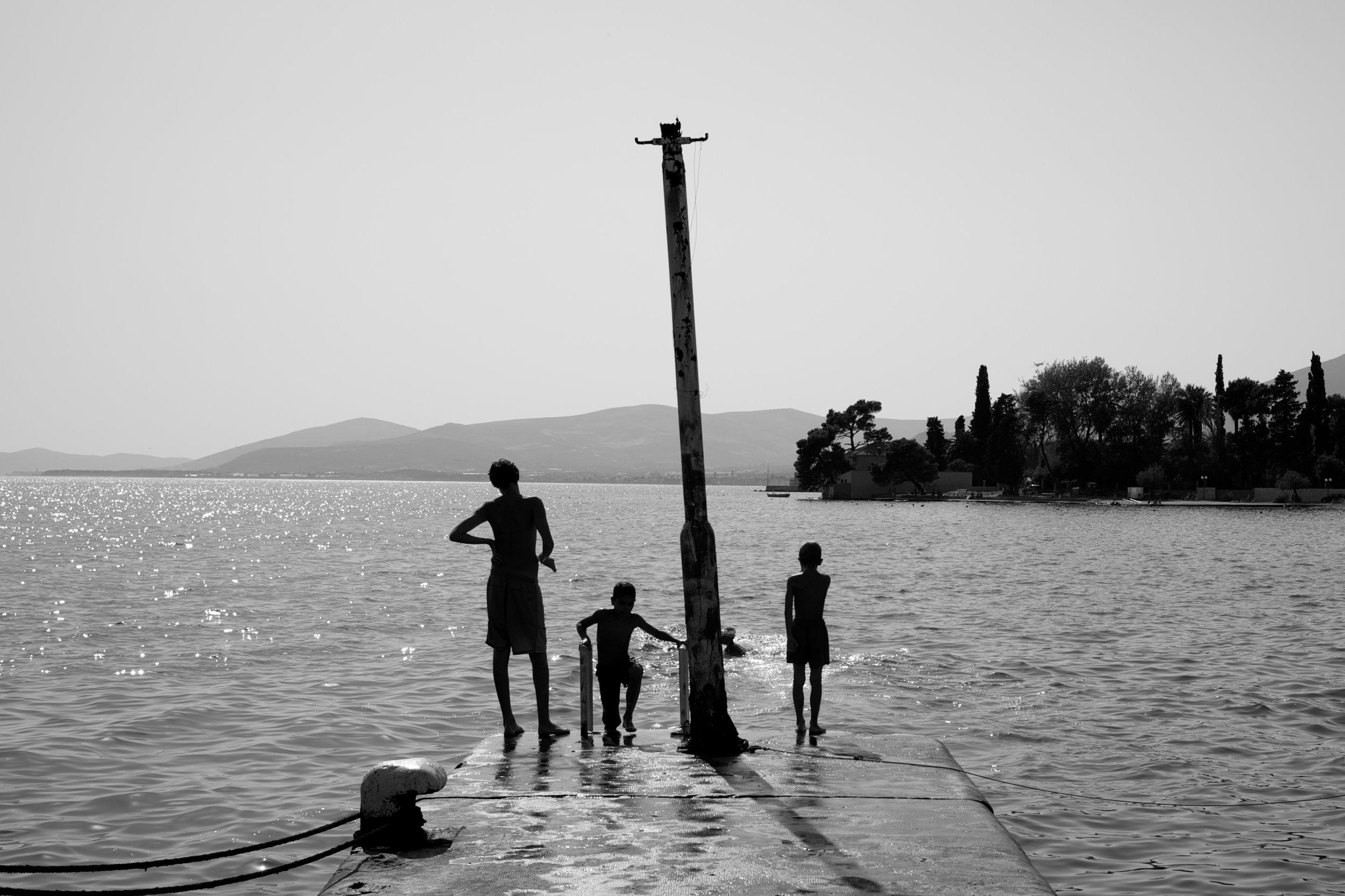 Croatia Dock BW 2012.jpg
