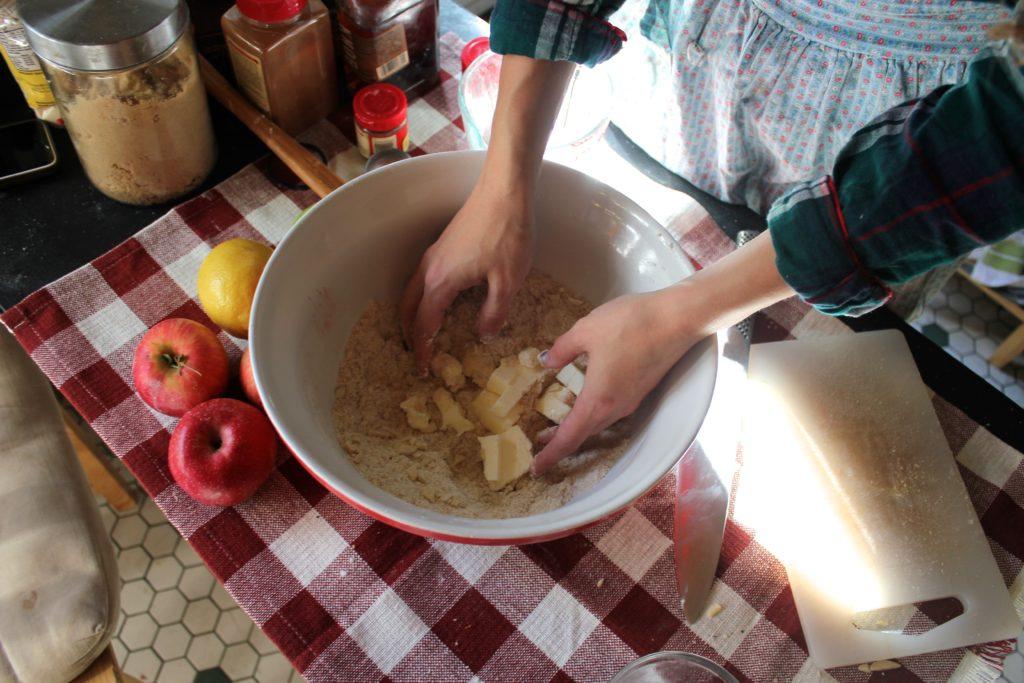 Brown Butter Bourbon Apple Pie_14
