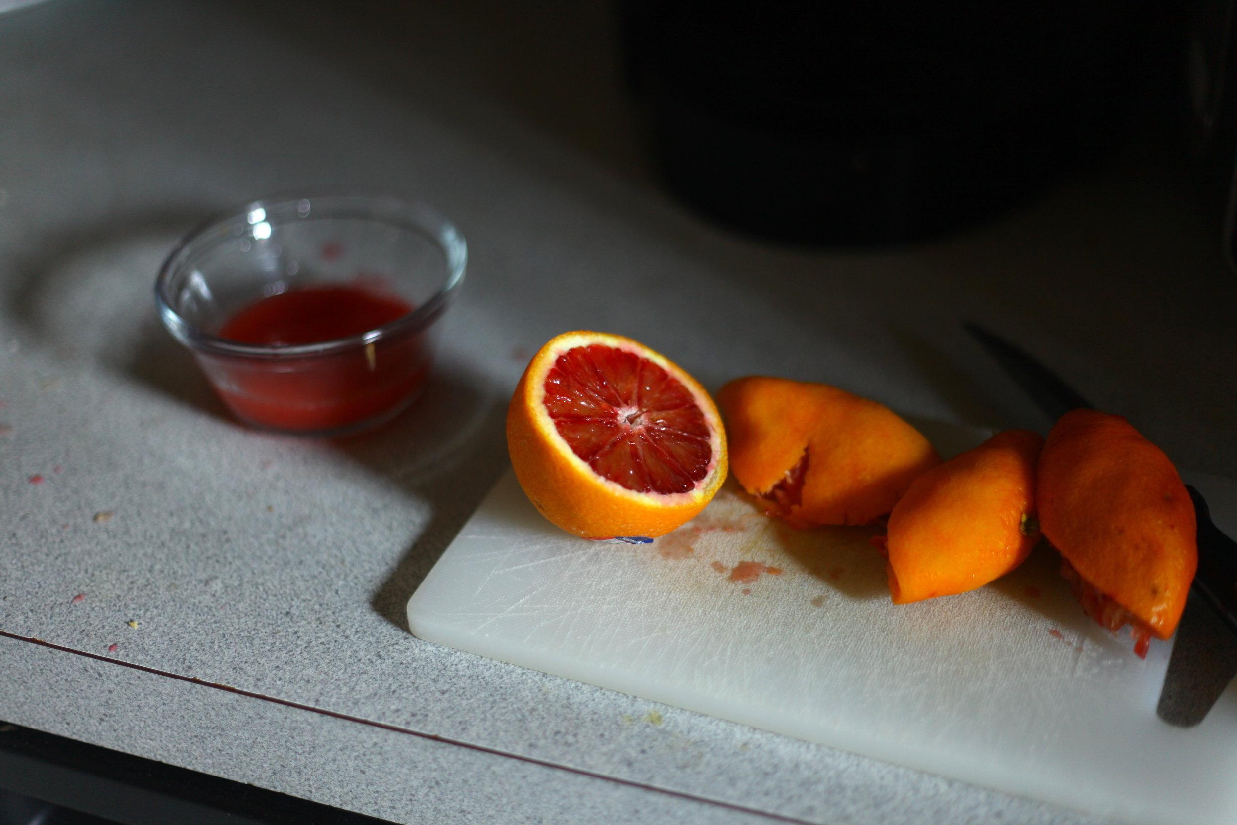 Blood Orange Glazed Buttermilk Donuts 8