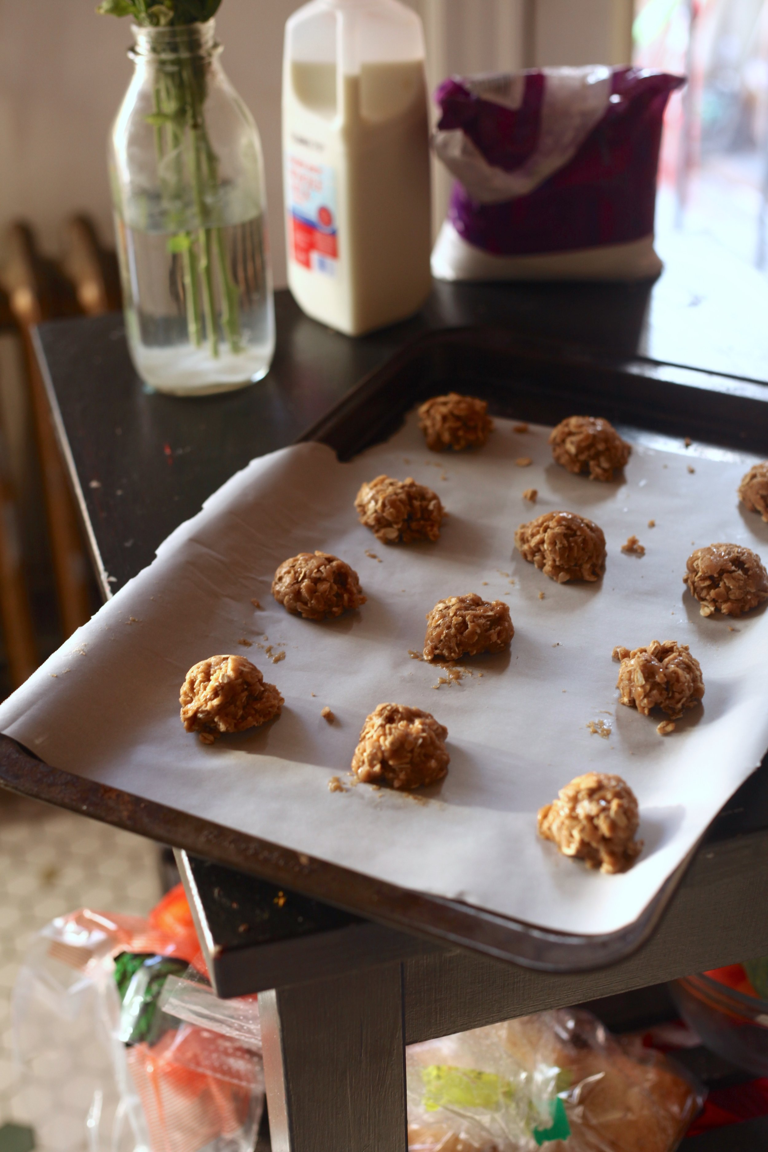 Brown Butter Oatmeal Cookies 6