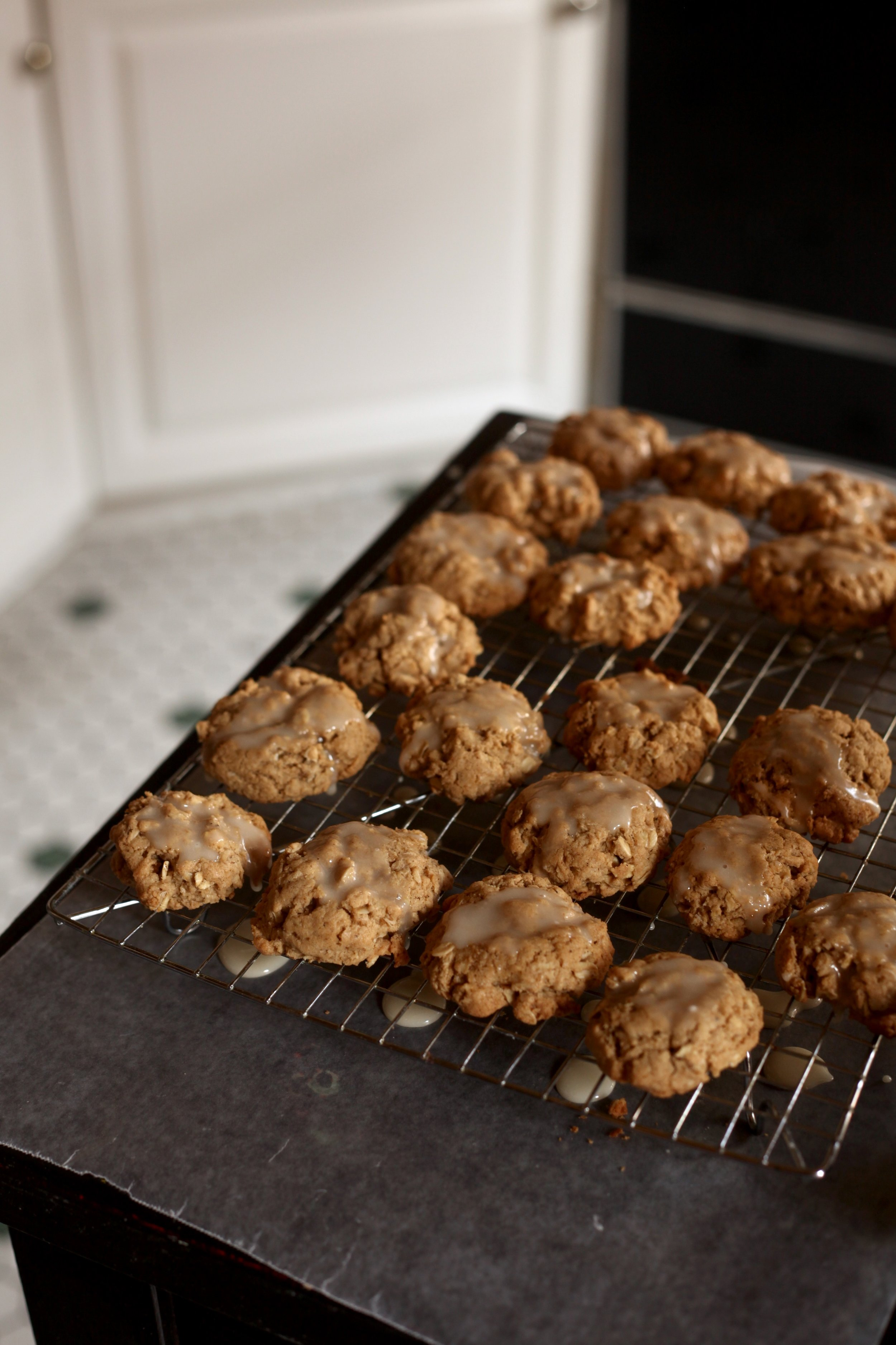 Brown Butter Oatmeal Cookies 7