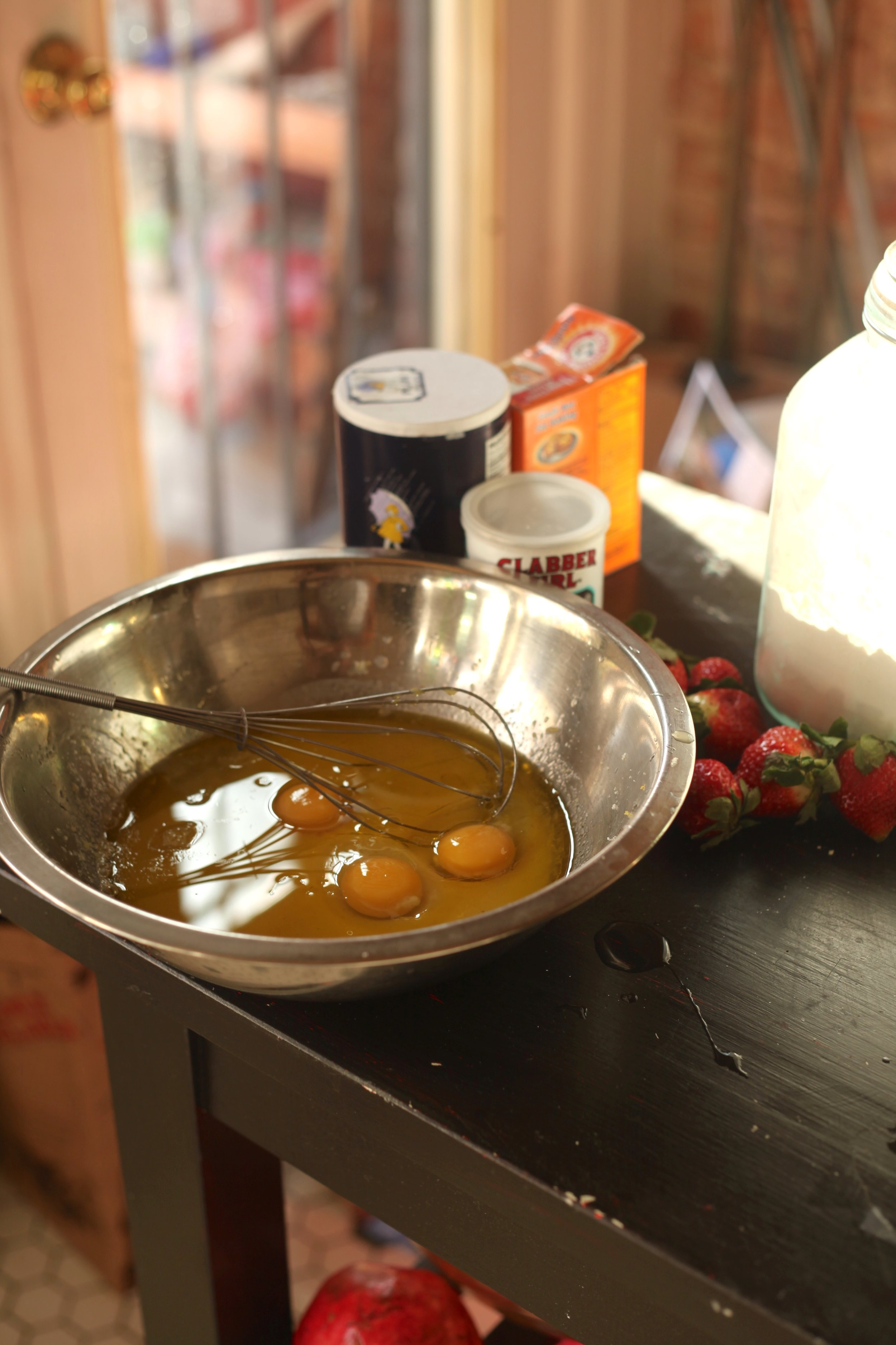 Olive Oil Pound Cake Balsamic Strawberries 3