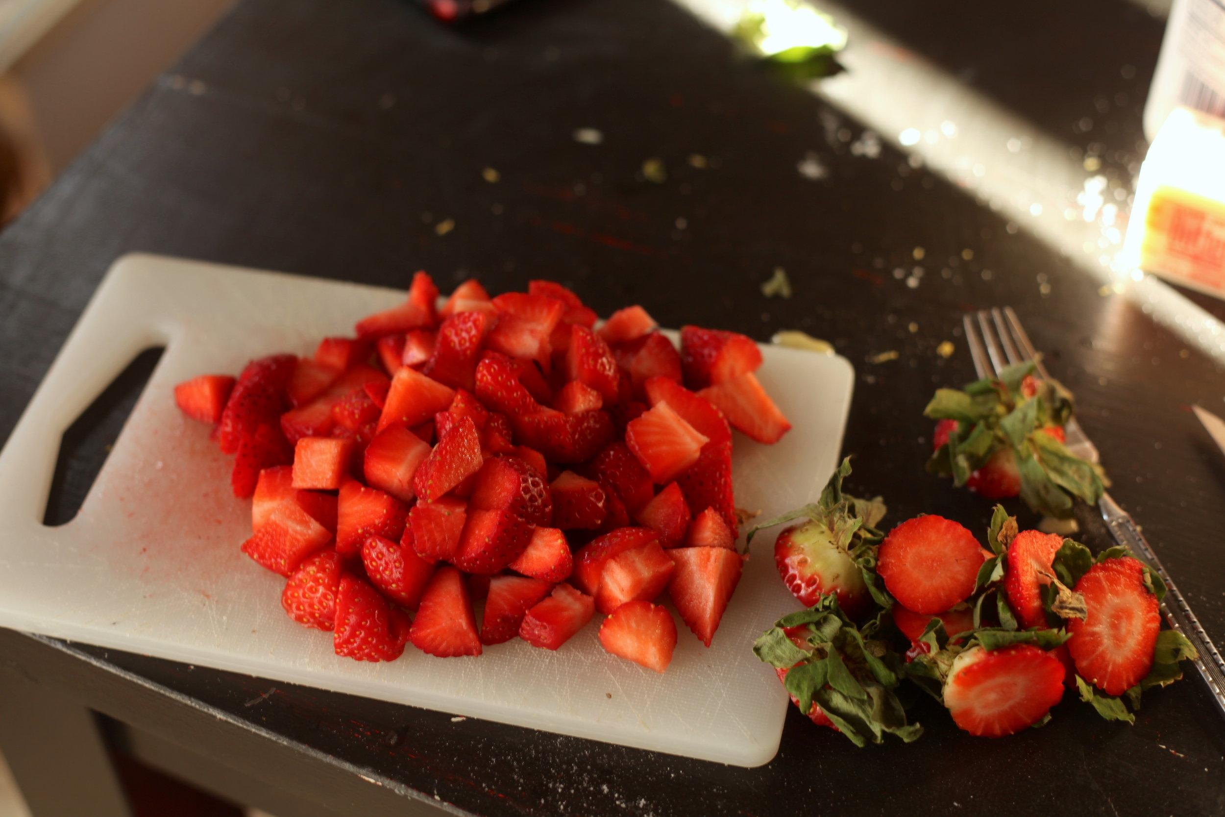 Olive Oil Pound Cake Balsamic Strawberries 6