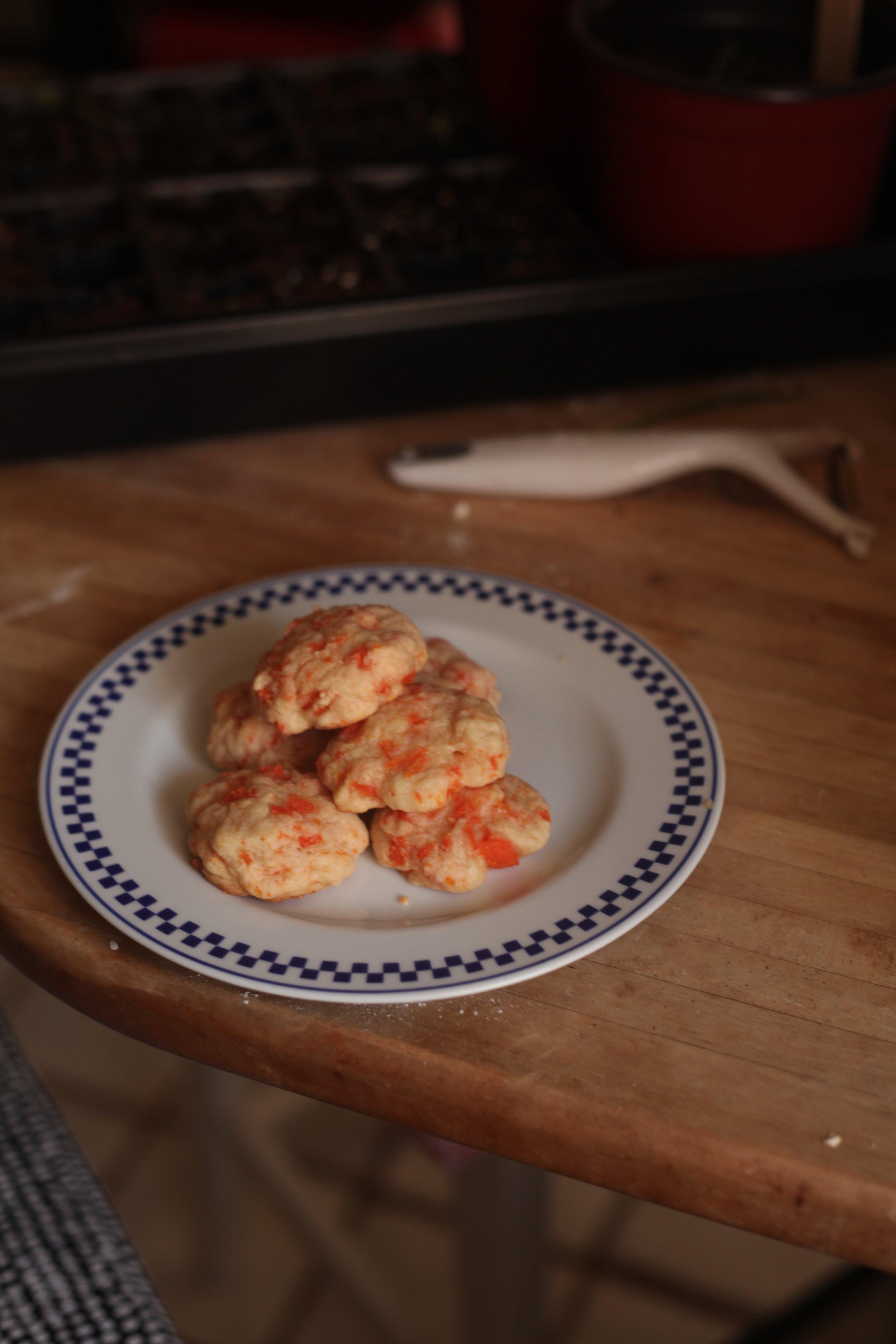 Carrot Cookies 7