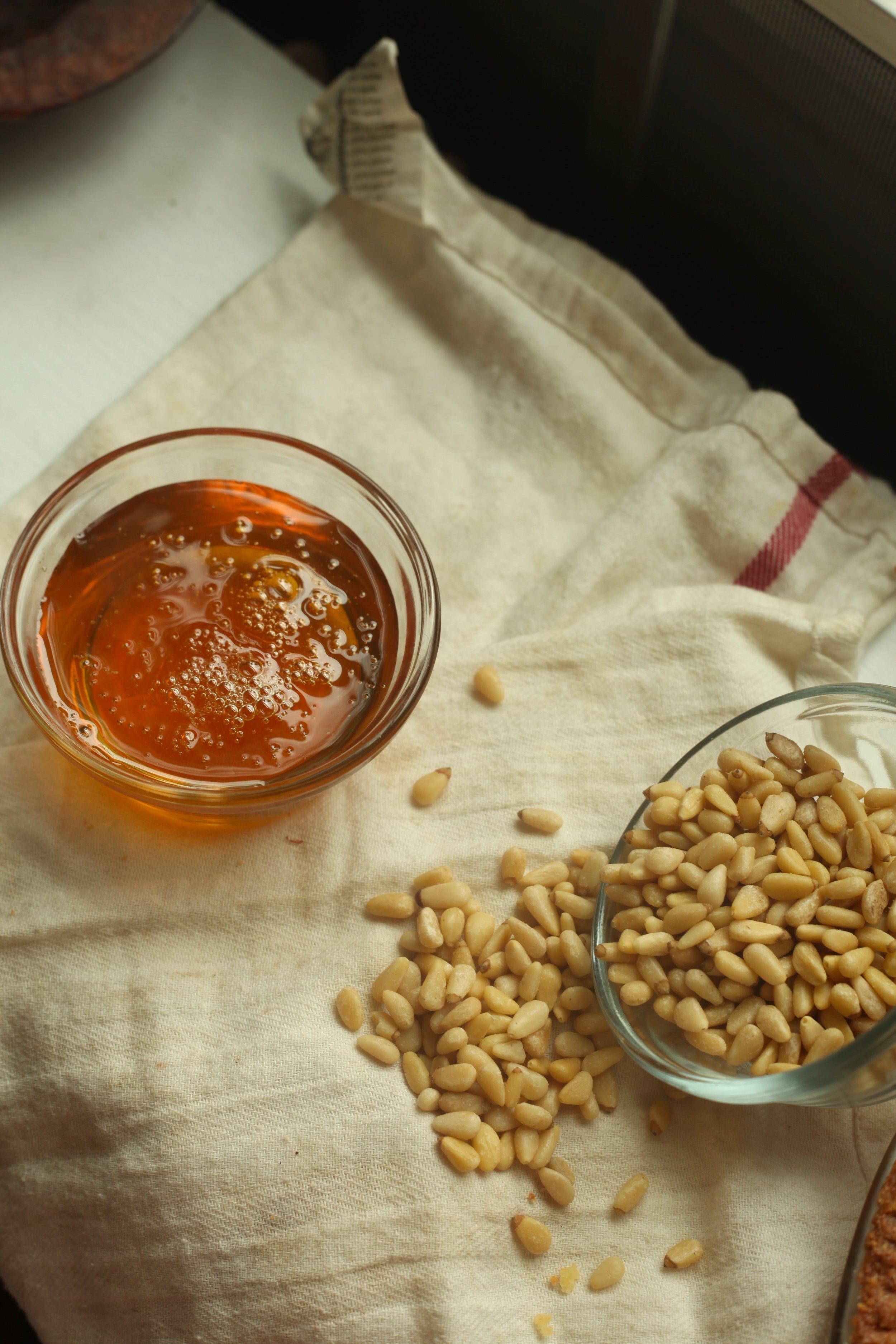 Honey Pine Nut Pie 3