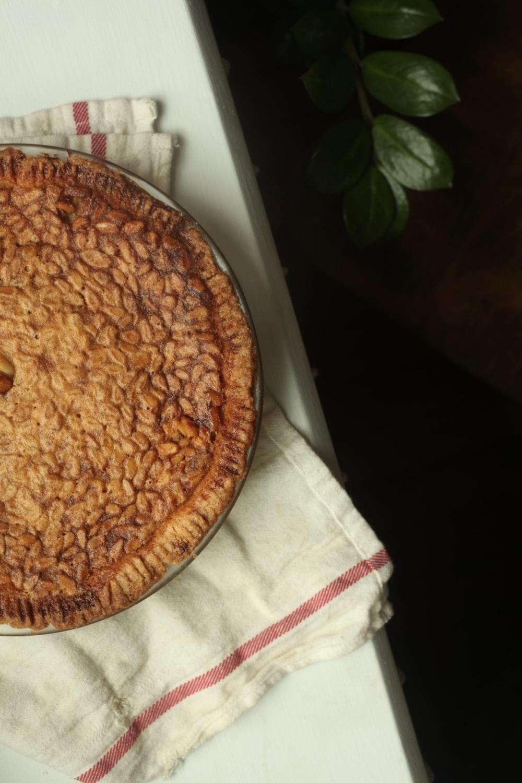 Honey Pine Nut Pie 1