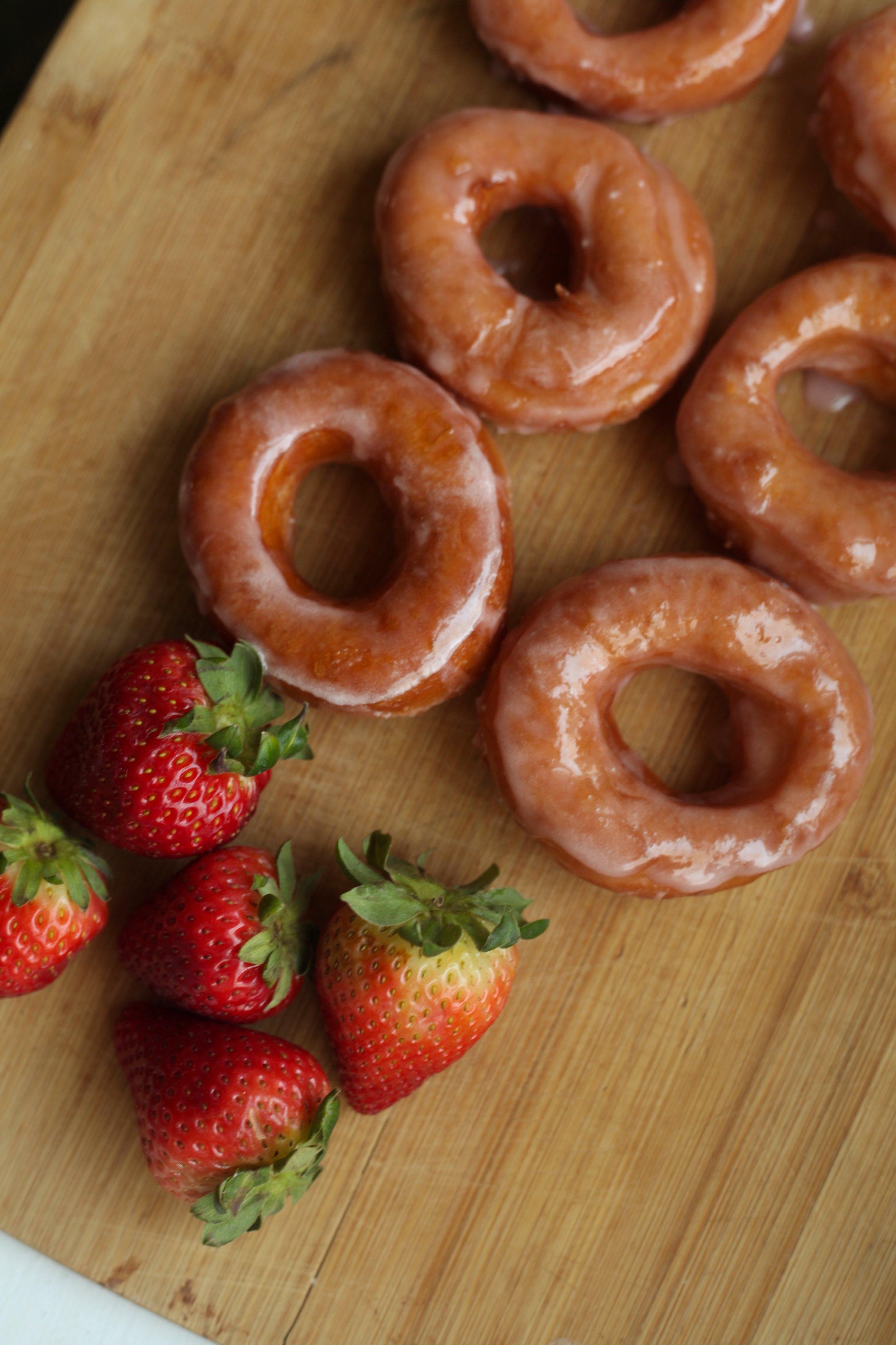 Strawberry Milk Donuts 4