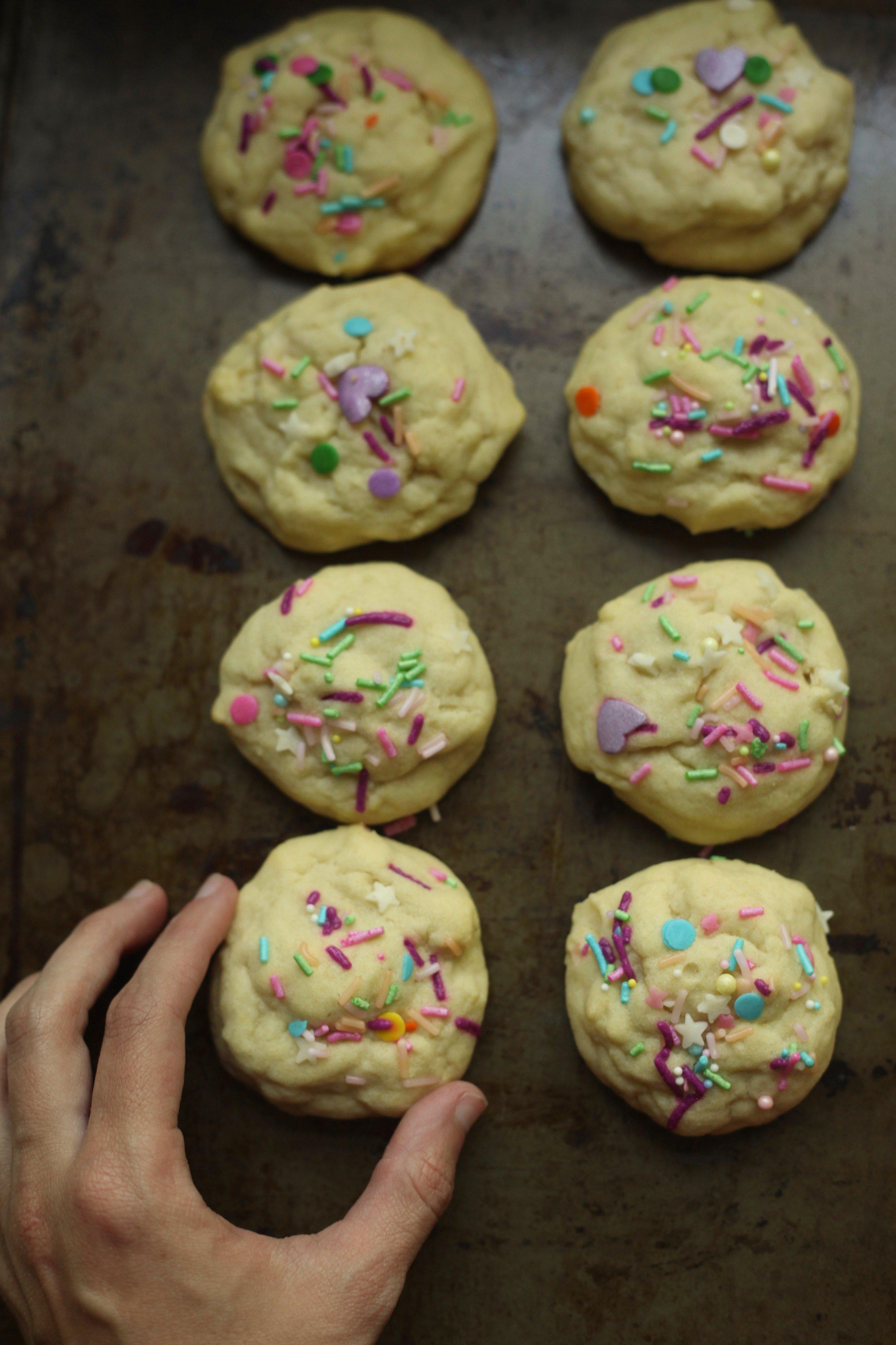Olive Oil Amish Sugar Cookies