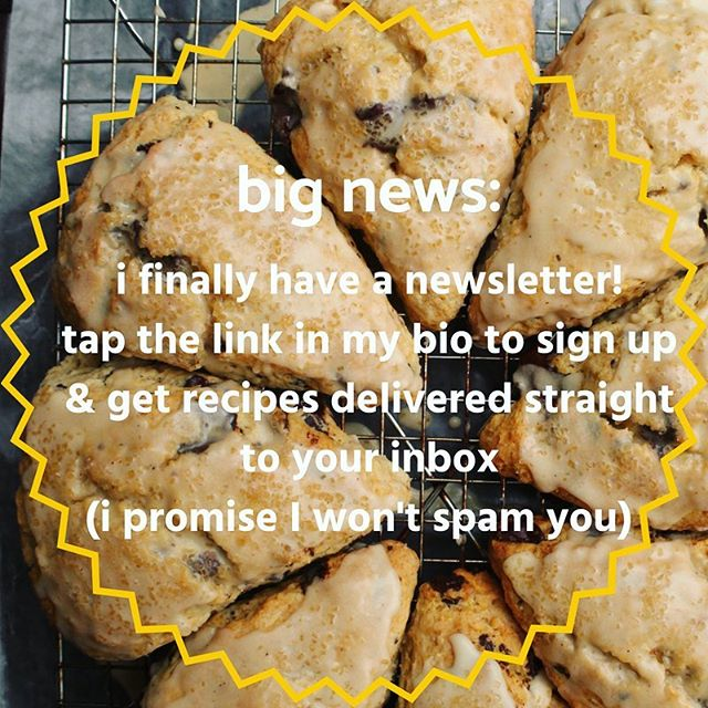 I finally have a newsletter (and it only took me two years 😂). Sign up at the link in my bio to get recipes delivered straight to your inbox. We all know you love getting emails. PS: you have to confirm the subscription in your inbox 💕 #messycooking