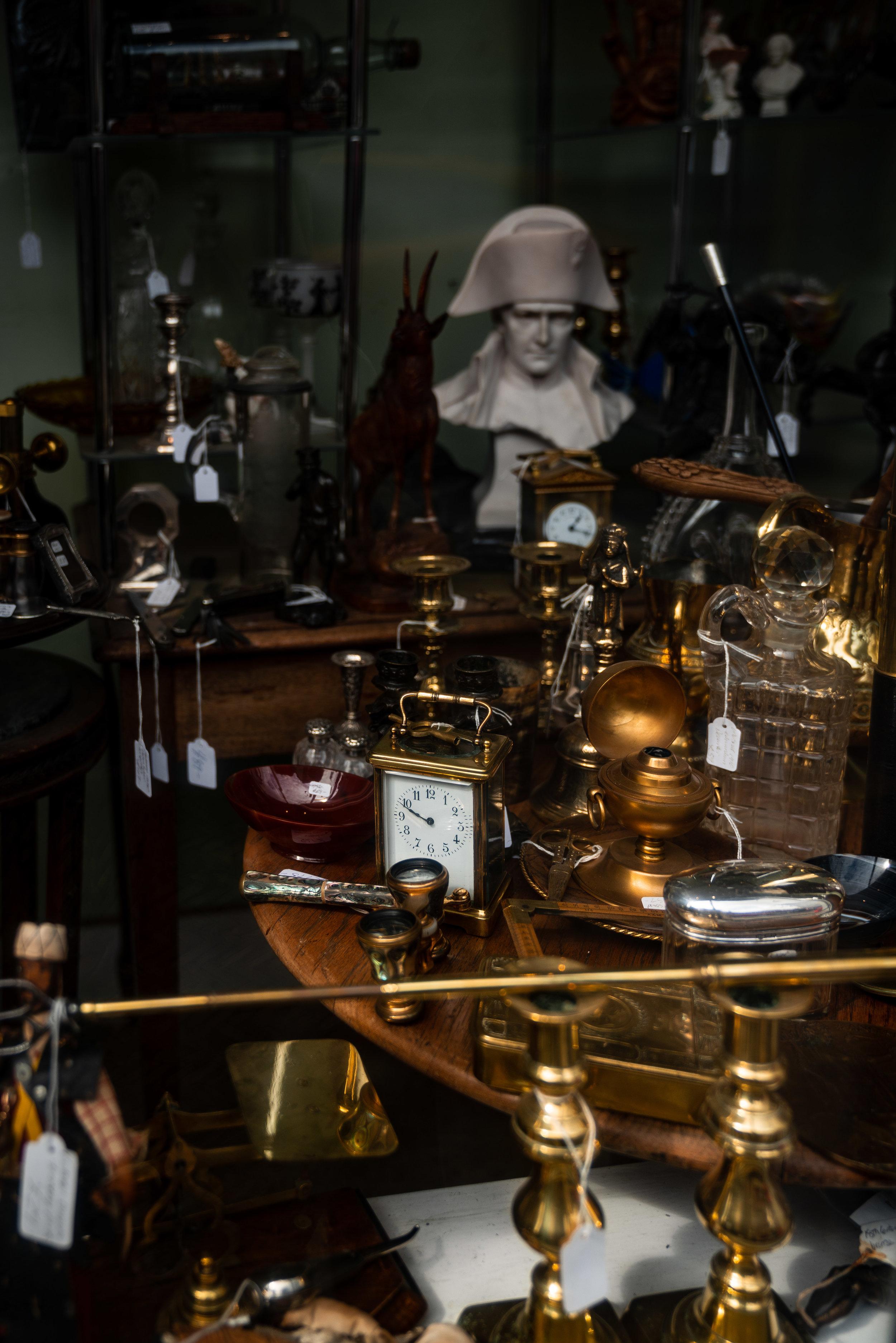 Antique shops, Eton