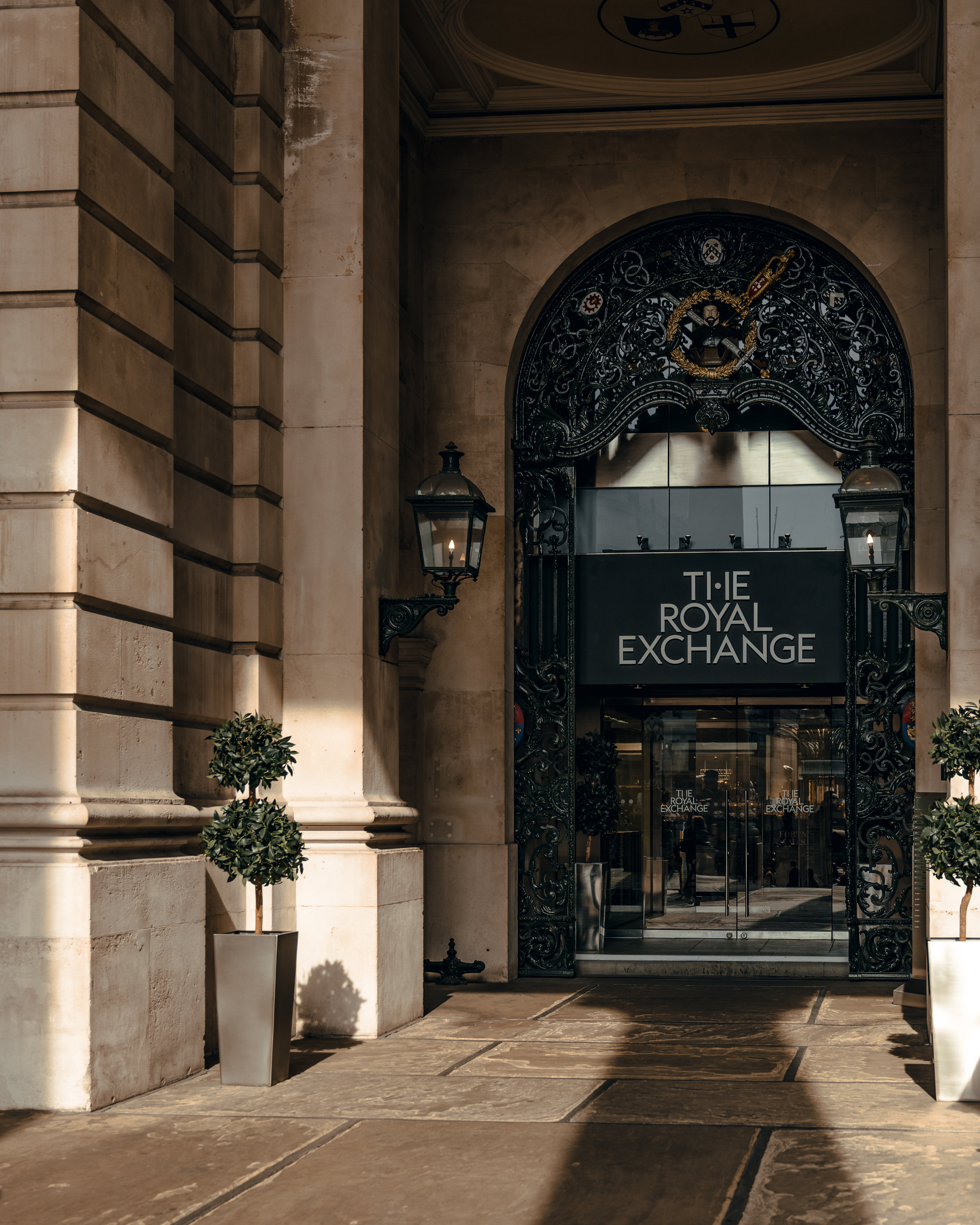 Entrance, The Royal Exchange