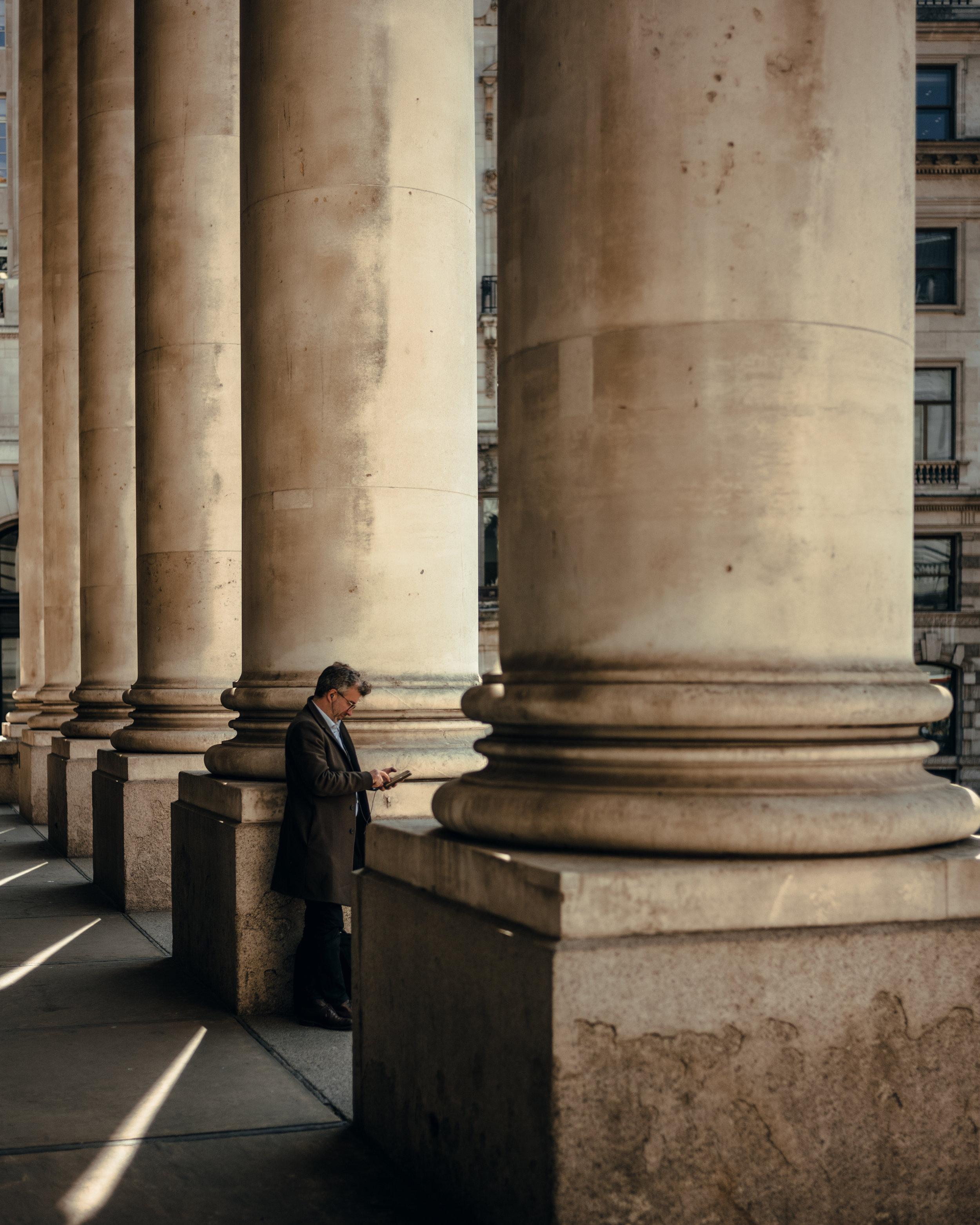 Stranger, The Royal Exchange