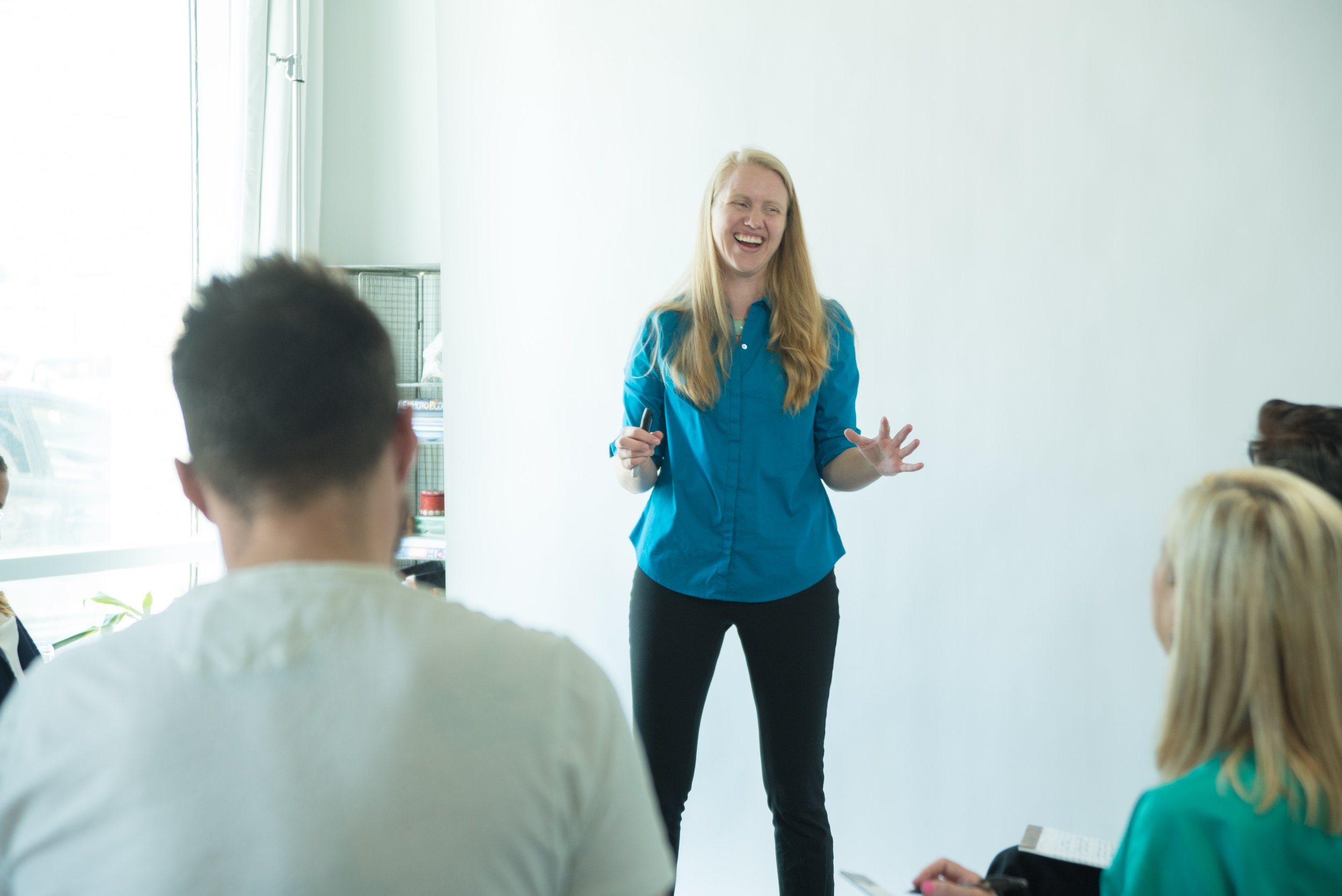 Executive Presentation Coach Jennifer Hennings helps professionals manage their public speaking nerves so they can lead and motivate more effectively.